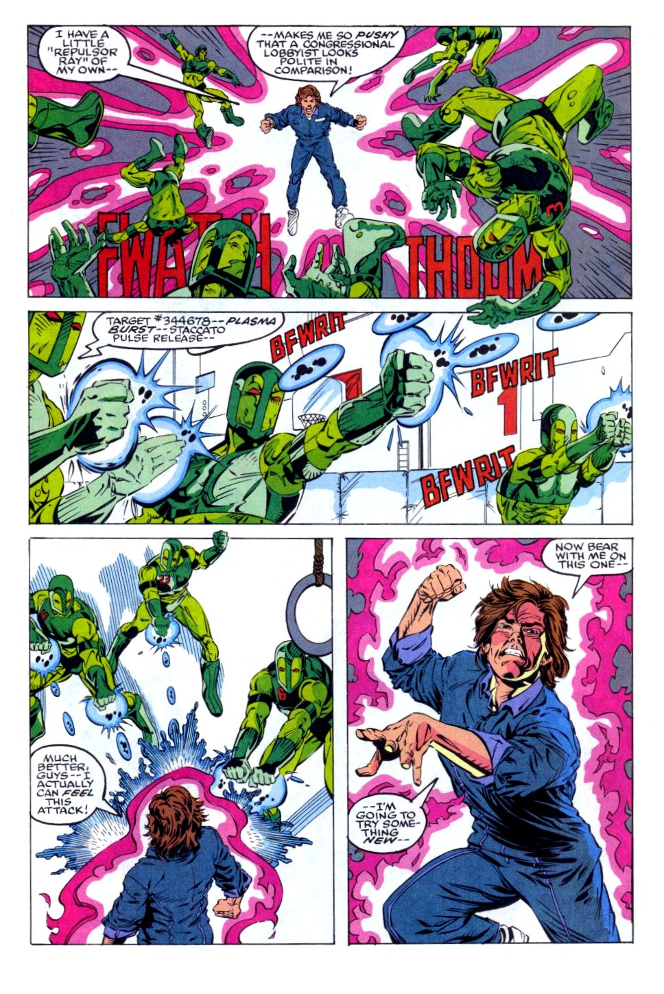 The New Warriors Issue #36 #40 - English 4