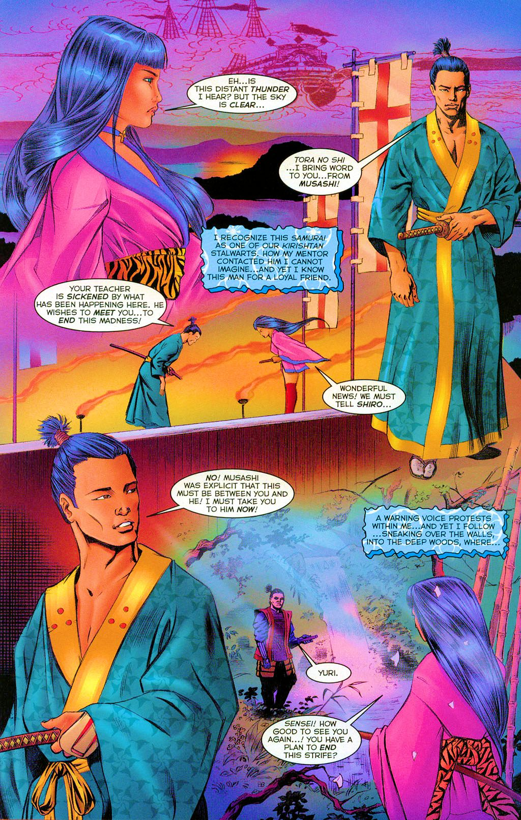 Read online Shi: Heaven And Earth comic -  Issue #3 - 16