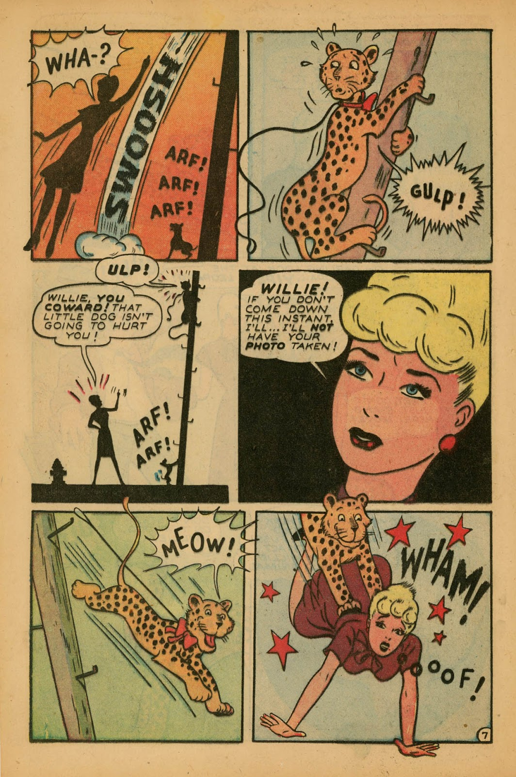 Read online Millie the Model comic -  Issue #7 - 16