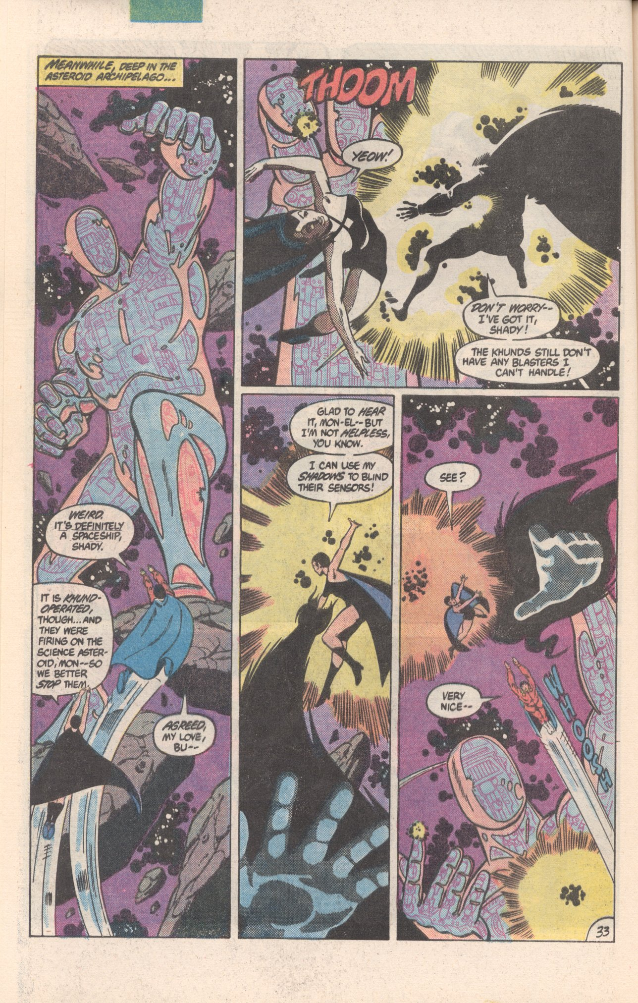 Legion of Super-Heroes (1980) 300 Page 33