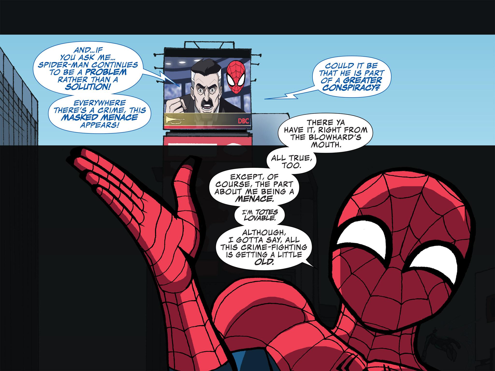 Read online Ultimate Spider-Man (Infinite Comics) (2015) comic -  Issue #12 - 15