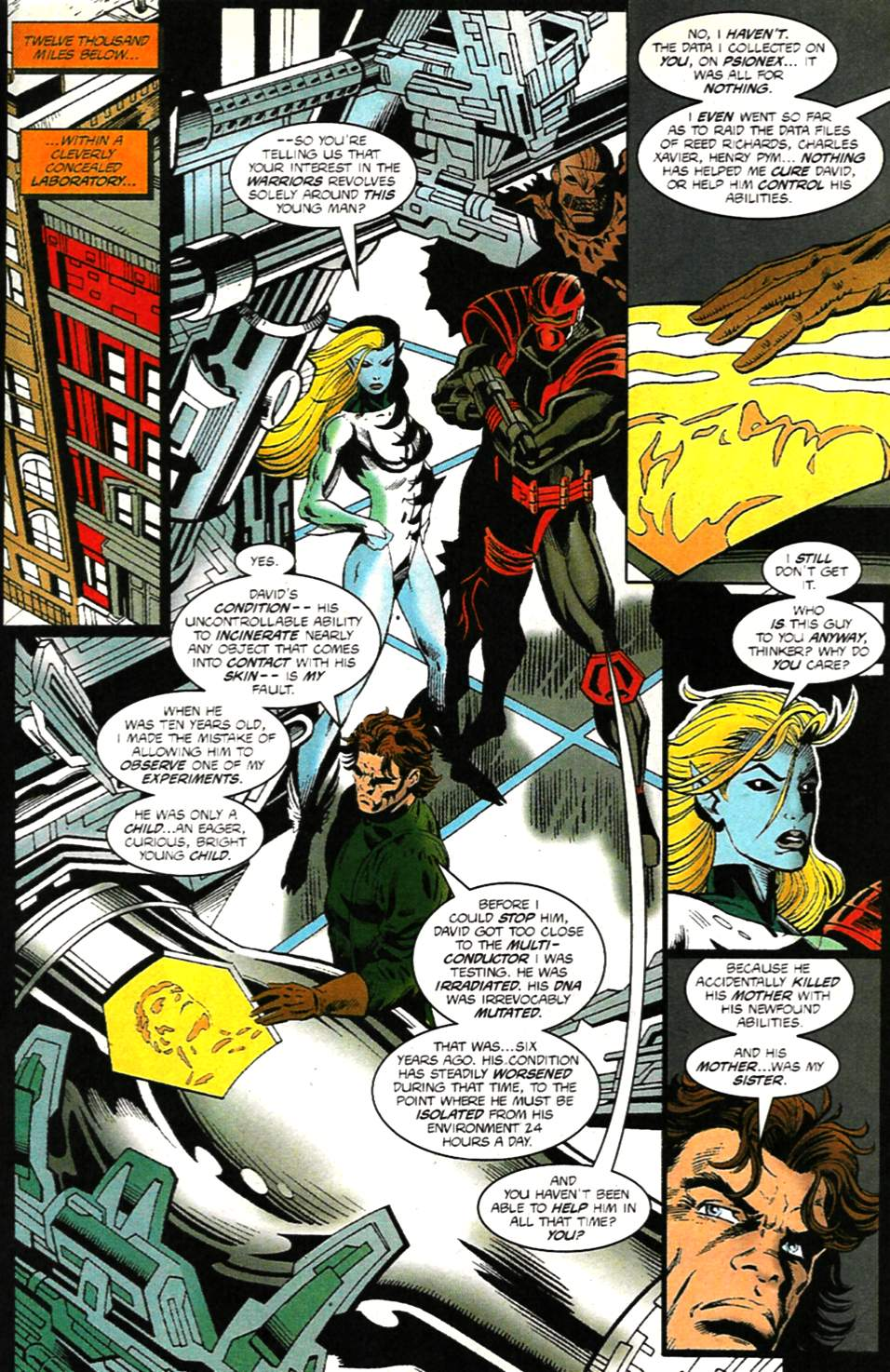The New Warriors Issue #75 #79 - English 17