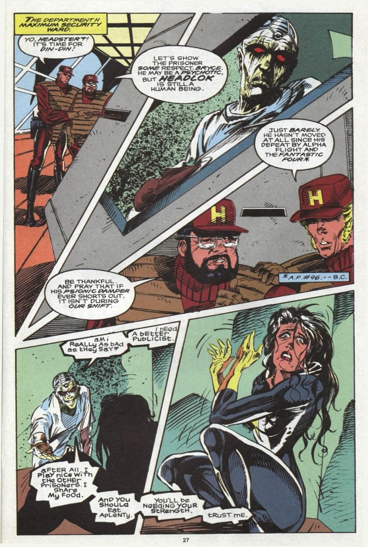 Read online Alpha Flight (1983) comic -  Issue #102 - 21