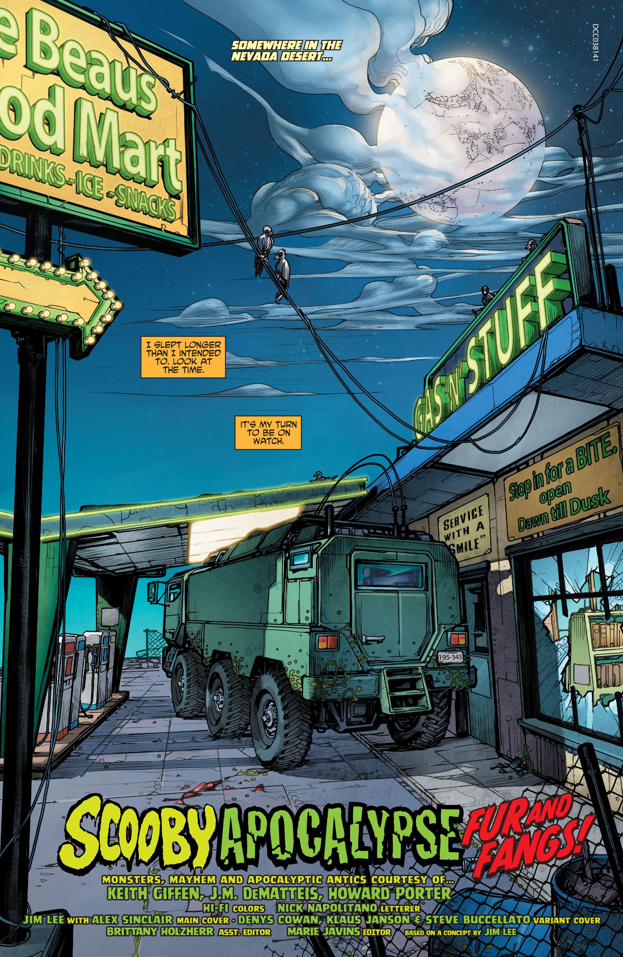 Read online Scooby Apocalypse comic -  Issue #4 - 4