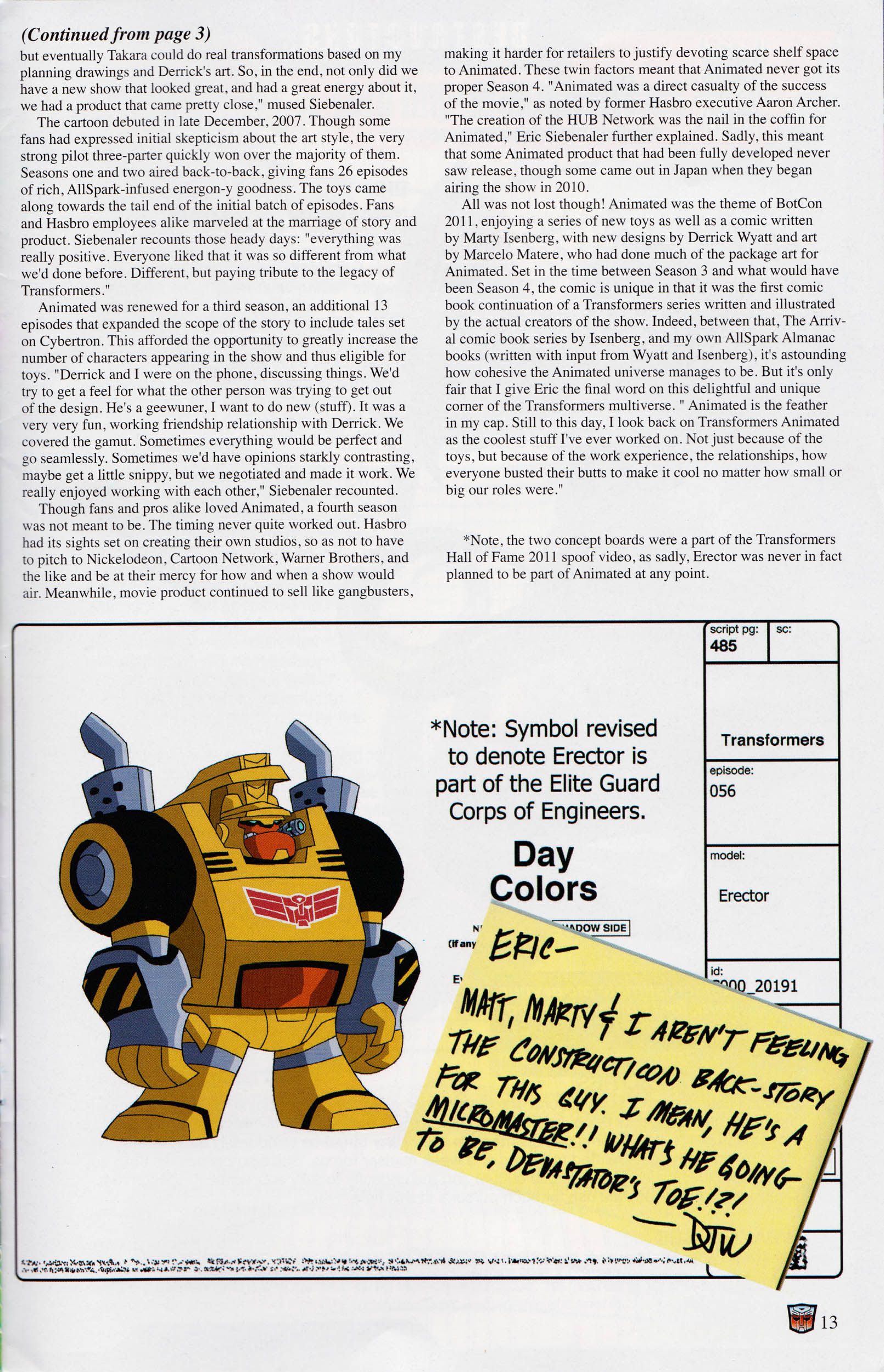 Read online Transformers: Collectors' Club comic -  Issue #59 - 13