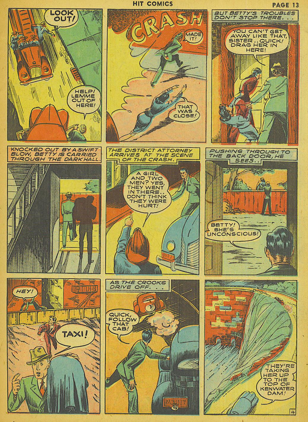 Read online Hit Comics comic -  Issue #13 - 15