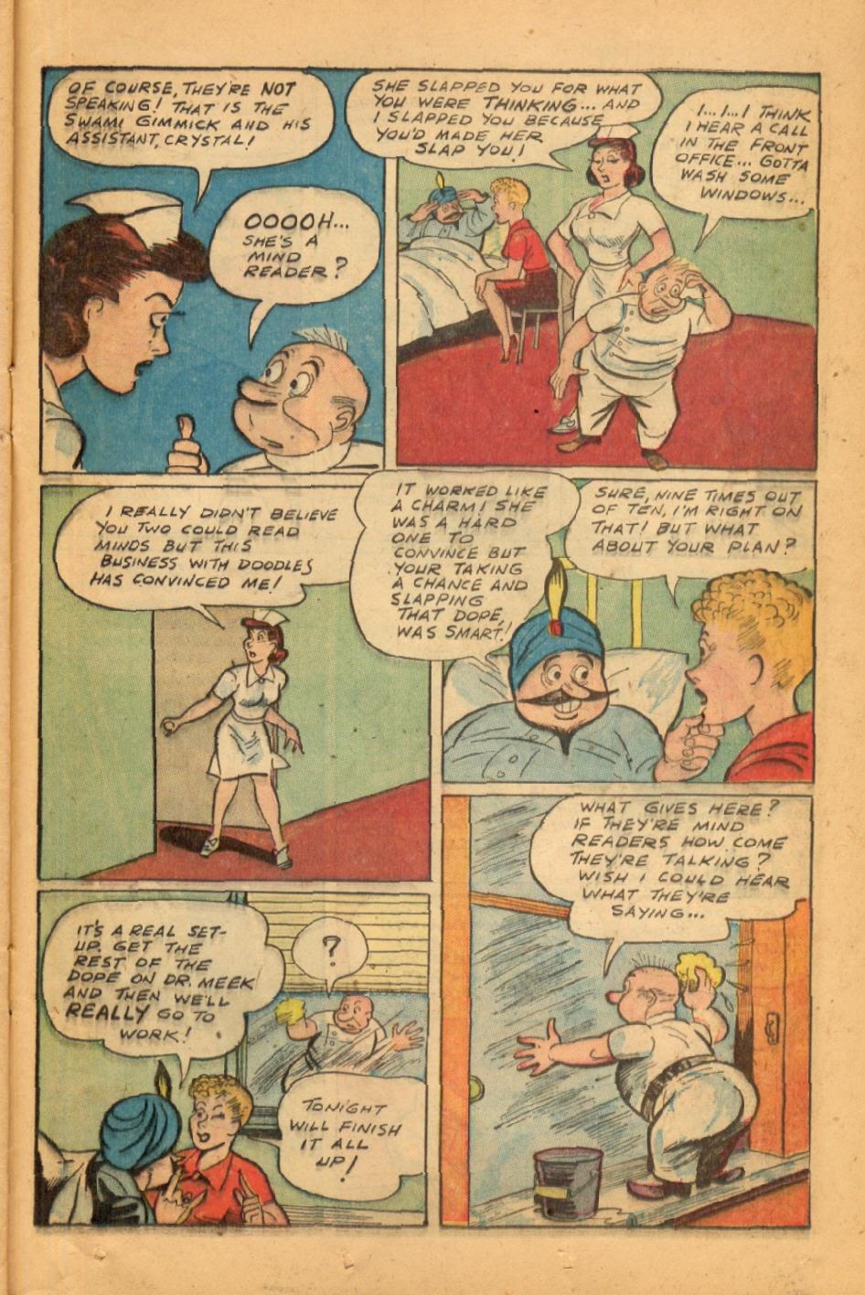 Read online Super-Magician Comics comic -  Issue #45 - 37