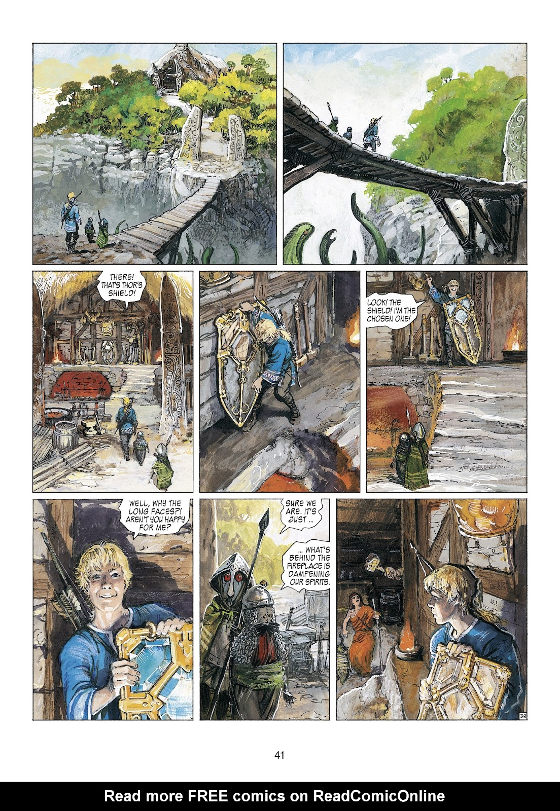 Read online Thorgal comic -  Issue #23 - 43