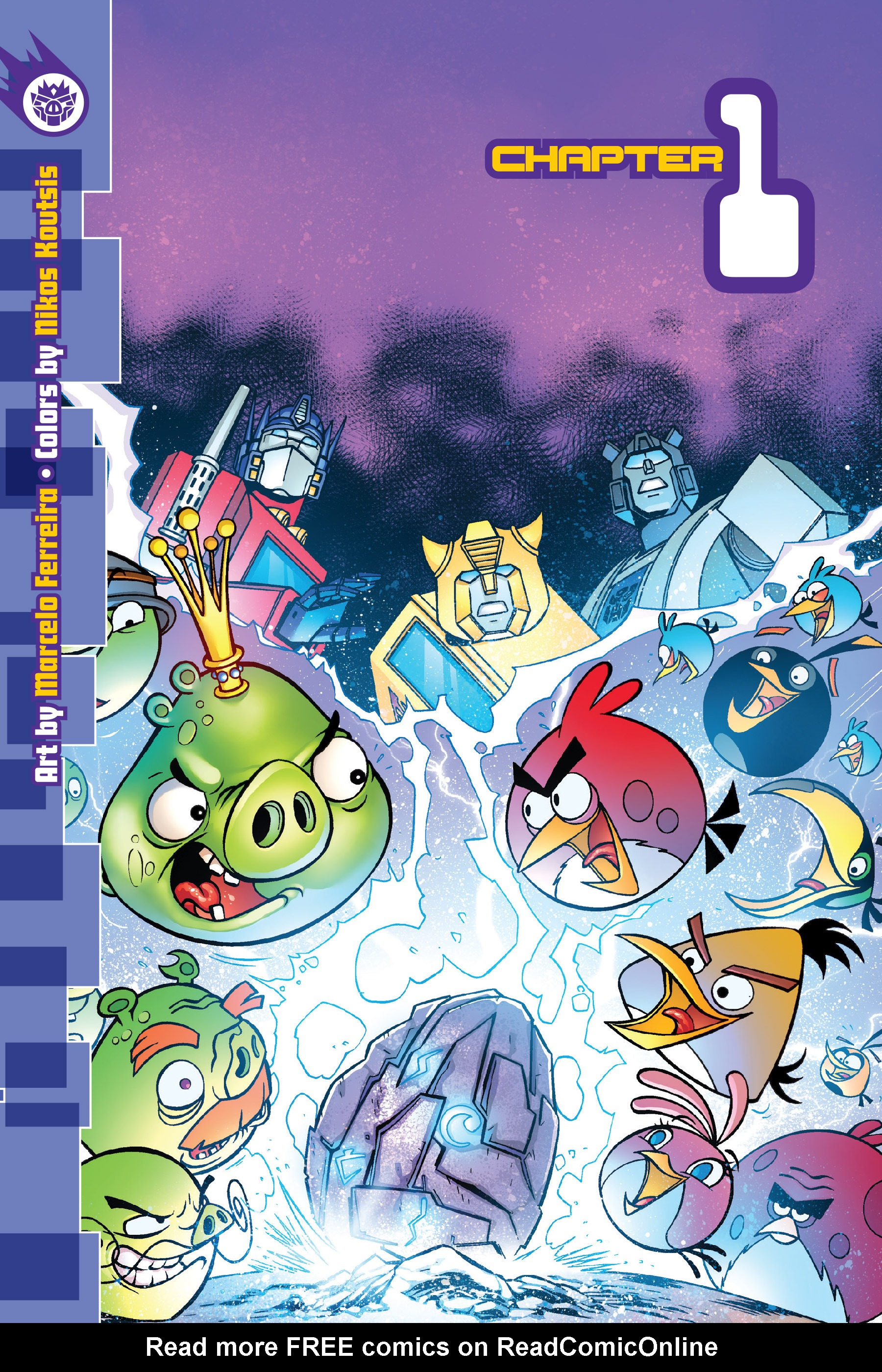 Read online Angry Birds Transformers: Age of Eggstinction comic -  Issue # Full - 5