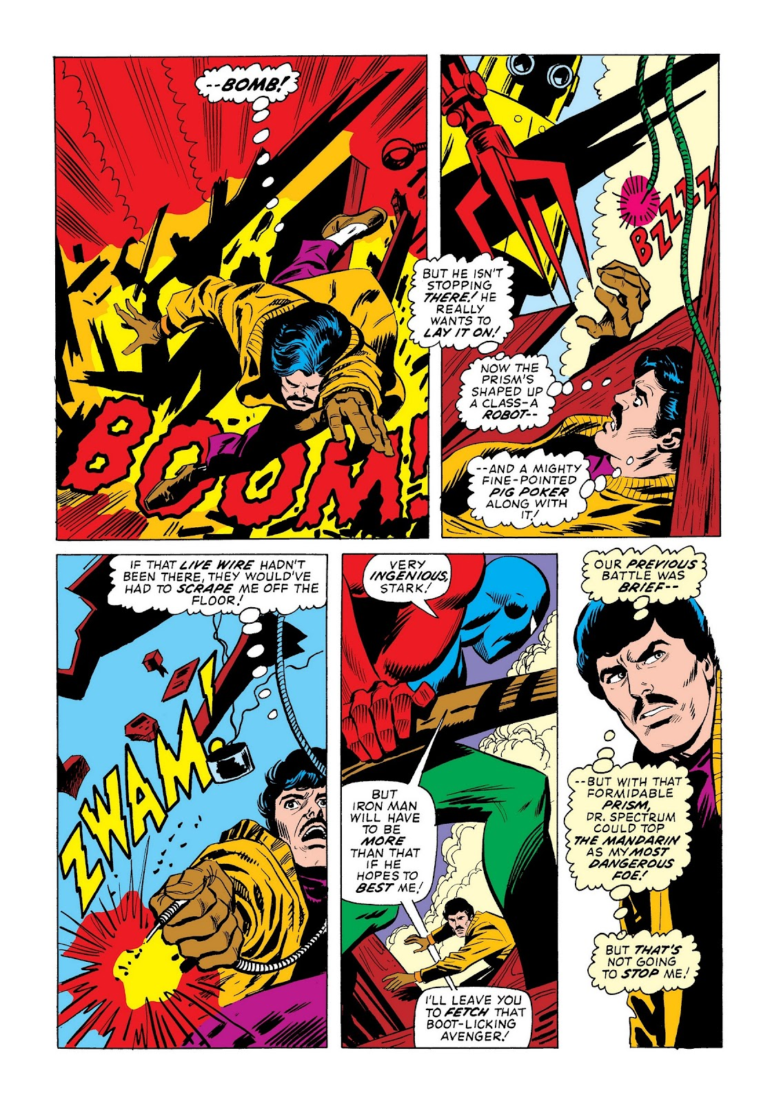 Read online Marvel Masterworks: The Invincible Iron Man comic -  Issue # TPB 9 (Part 3) - 6