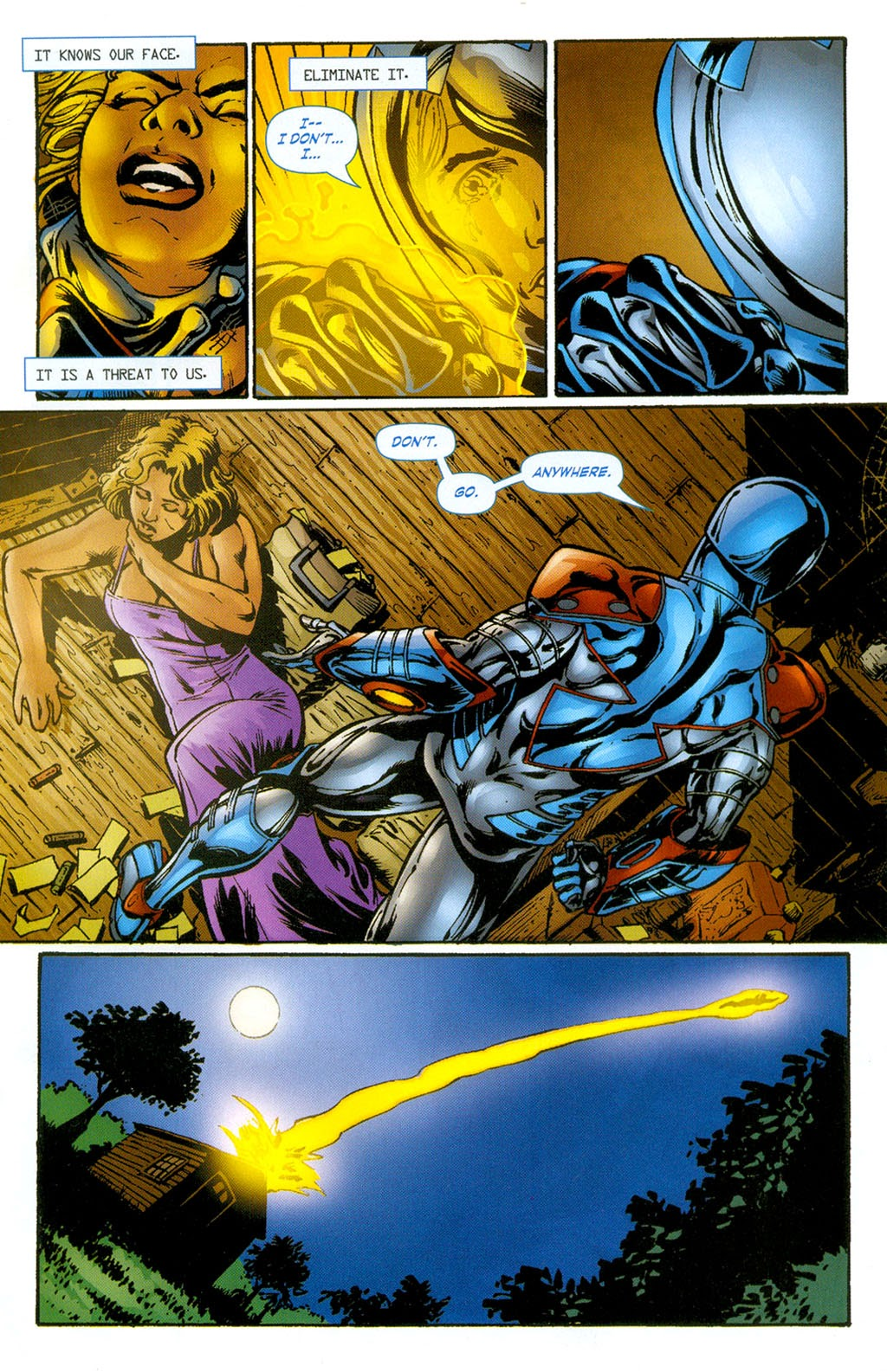 Read online ArmorX comic -  Issue #3 - 15