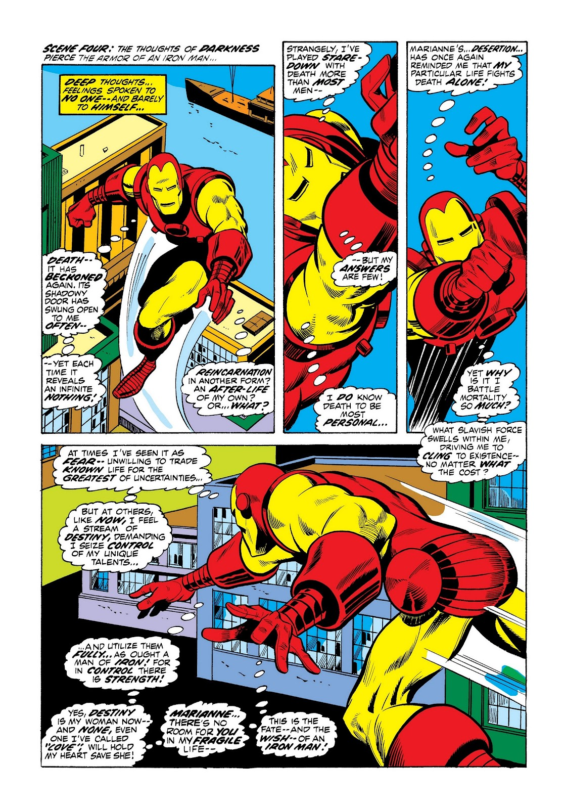 Read online Marvel Masterworks: The Invincible Iron Man comic -  Issue # TPB 8 (Part 3) - 38
