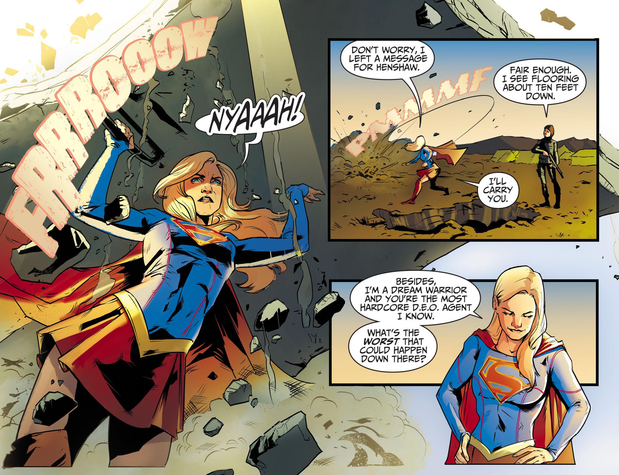 Read online Adventures of Supergirl comic -  Issue #8 - 15
