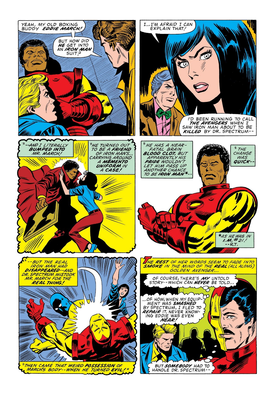 Read online Marvel Masterworks: The Invincible Iron Man comic -  Issue # TPB 9 (Part 3) - 71