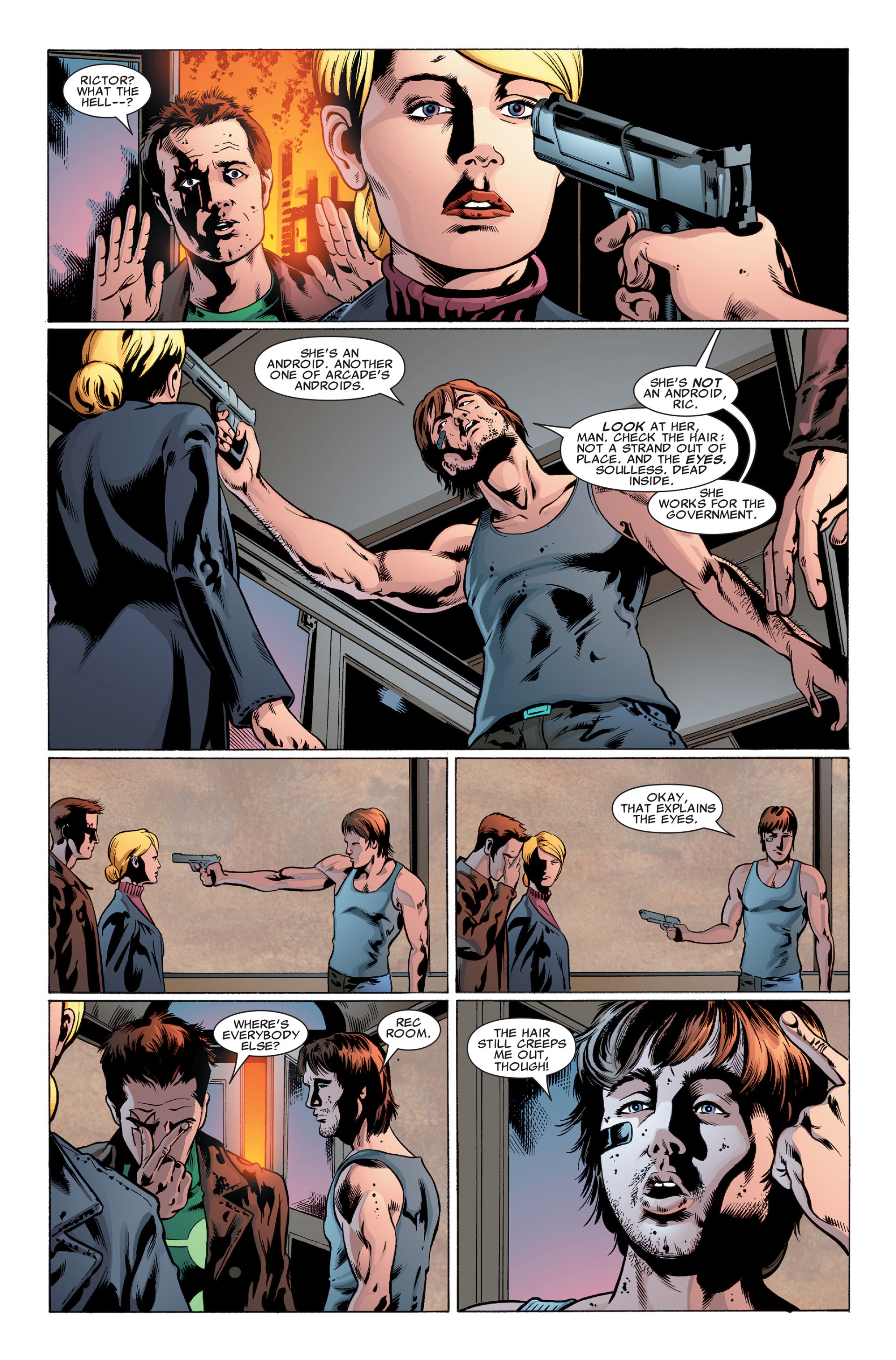 Read online X-Factor (2006) comic -  Issue #32 - 10