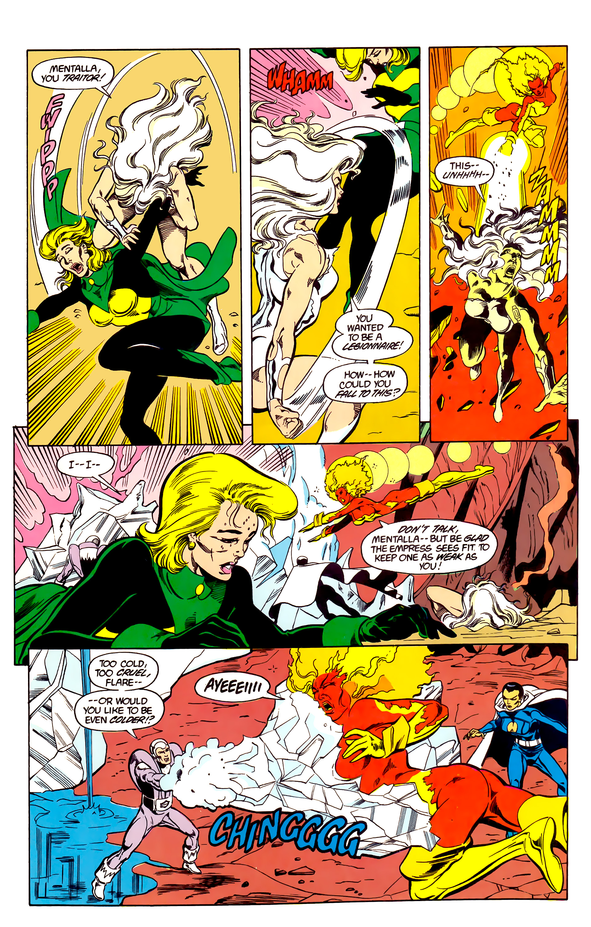 Legion of Super-Heroes (1984) 26 Page 19