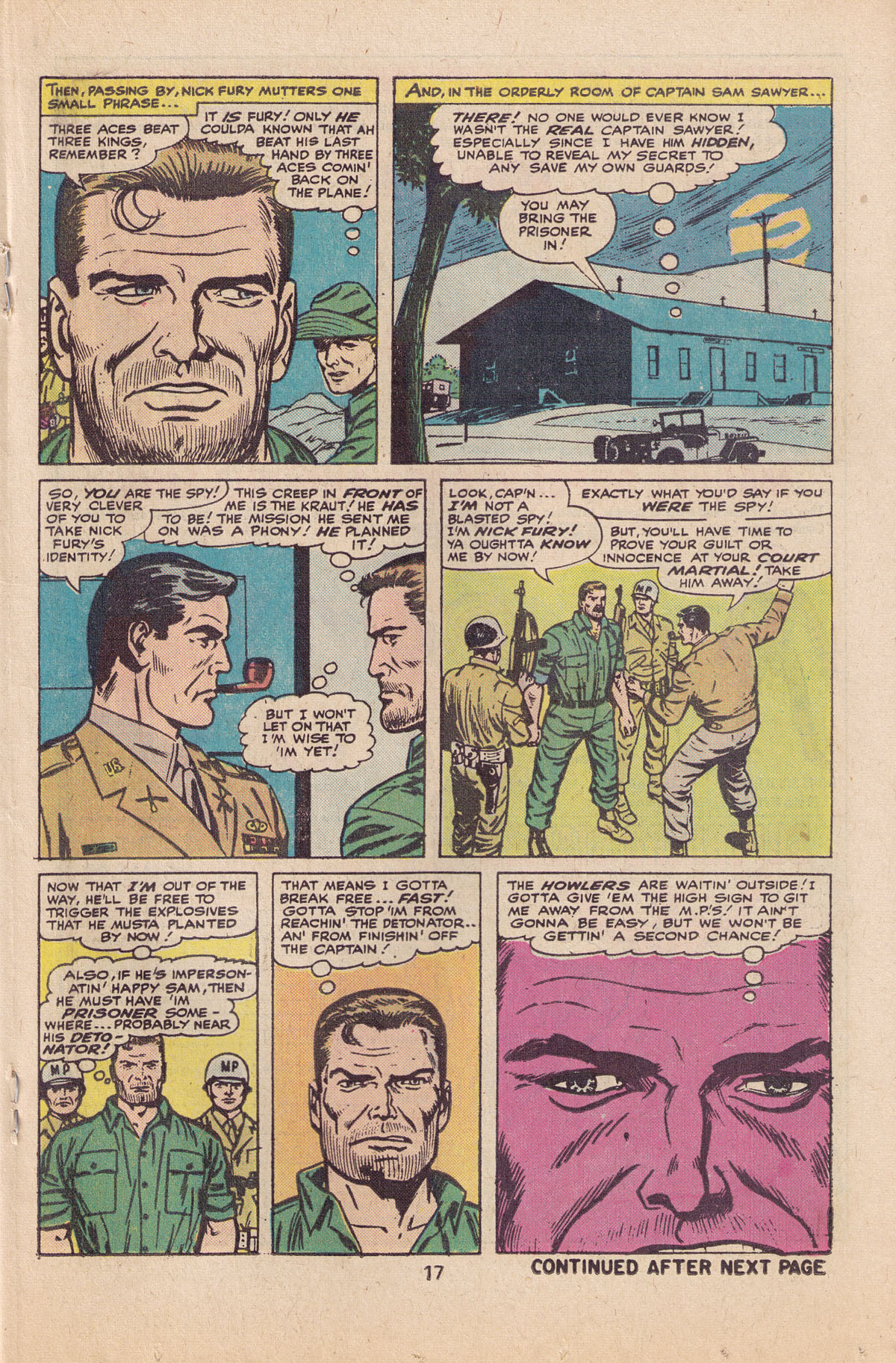 Read online Sgt. Fury comic -  Issue #127 - 19