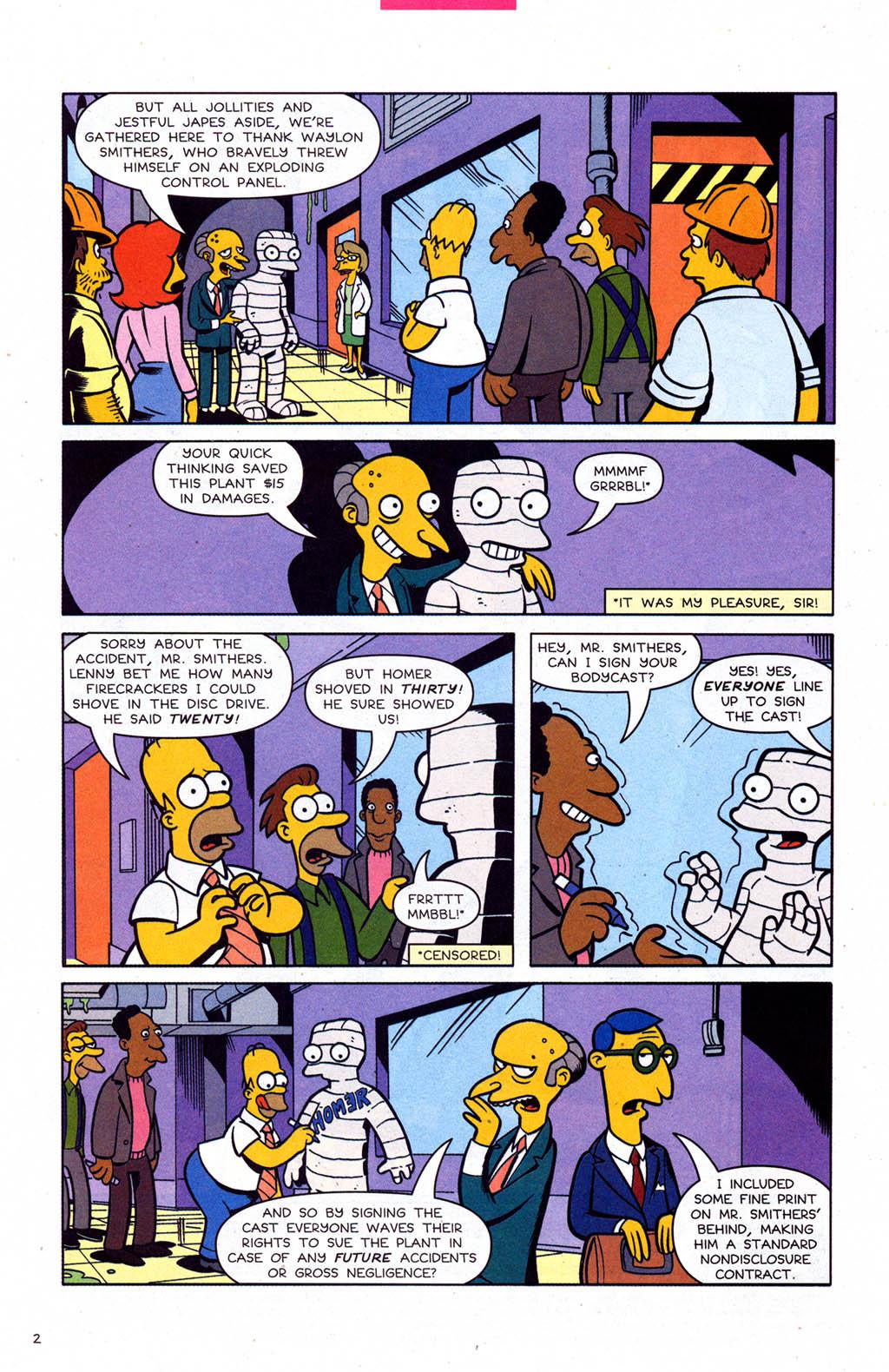Read online Simpsons Comics comic -  Issue #102 - 3