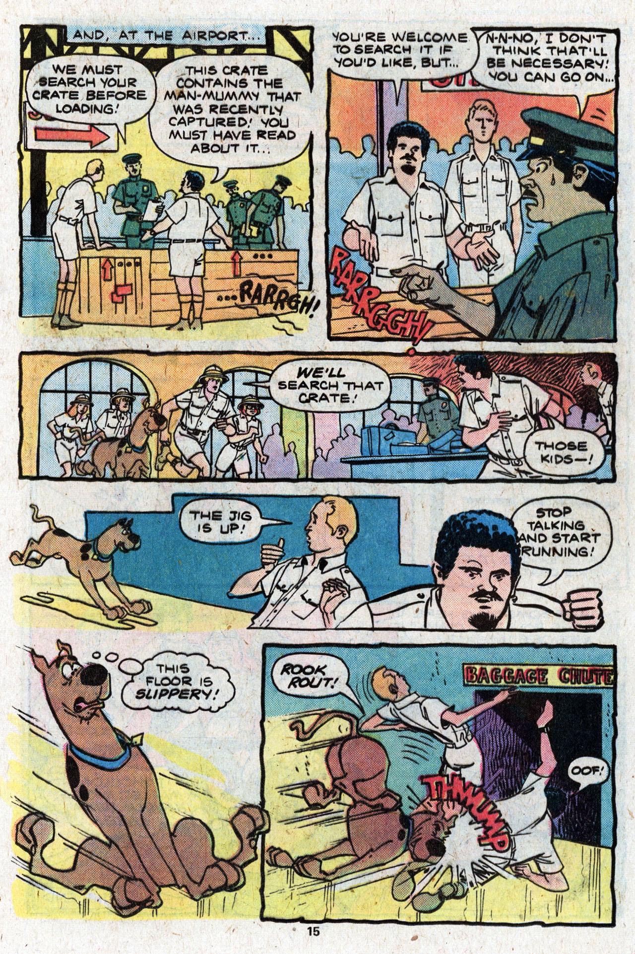 Read online Scooby-Doo (1977) comic -  Issue #4 - 17