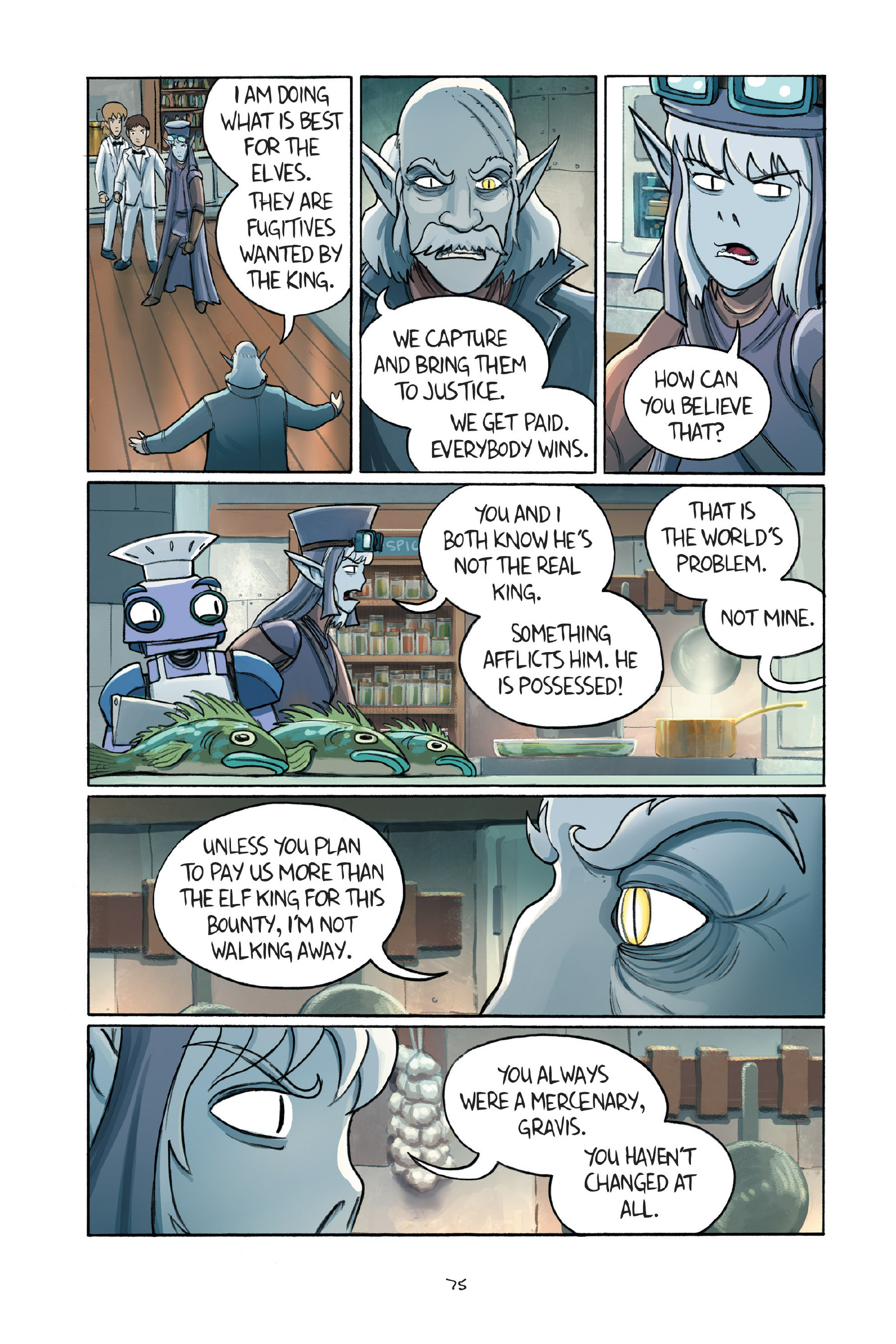Read online Amulet comic -  Issue #7 - 76
