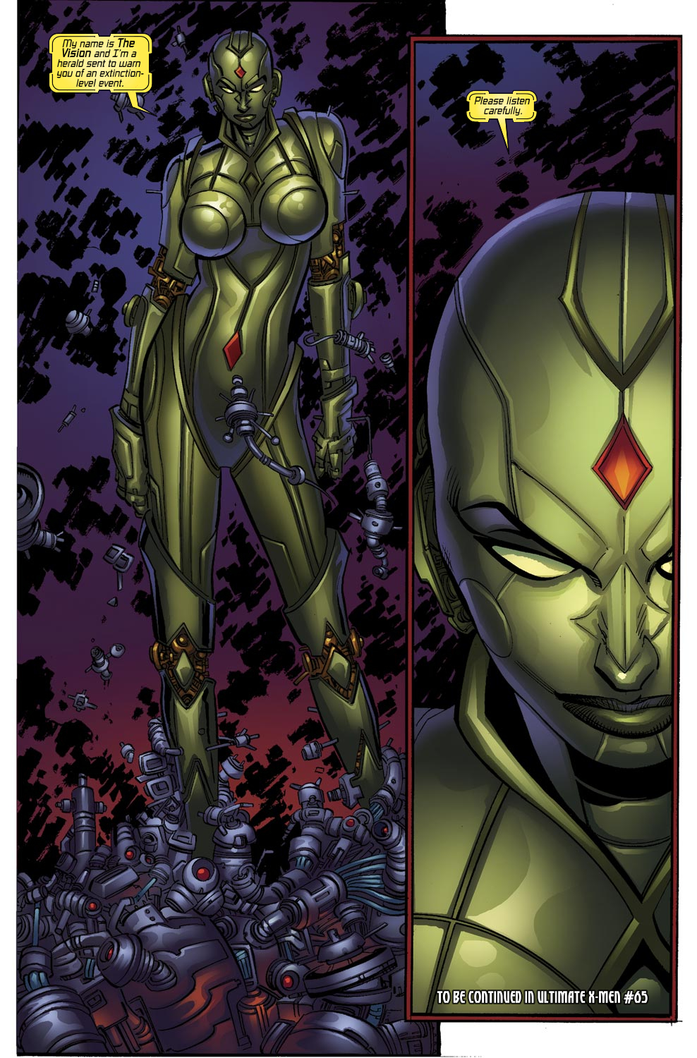 Read online Ultimate Vision comic -  Issue #0 - 6