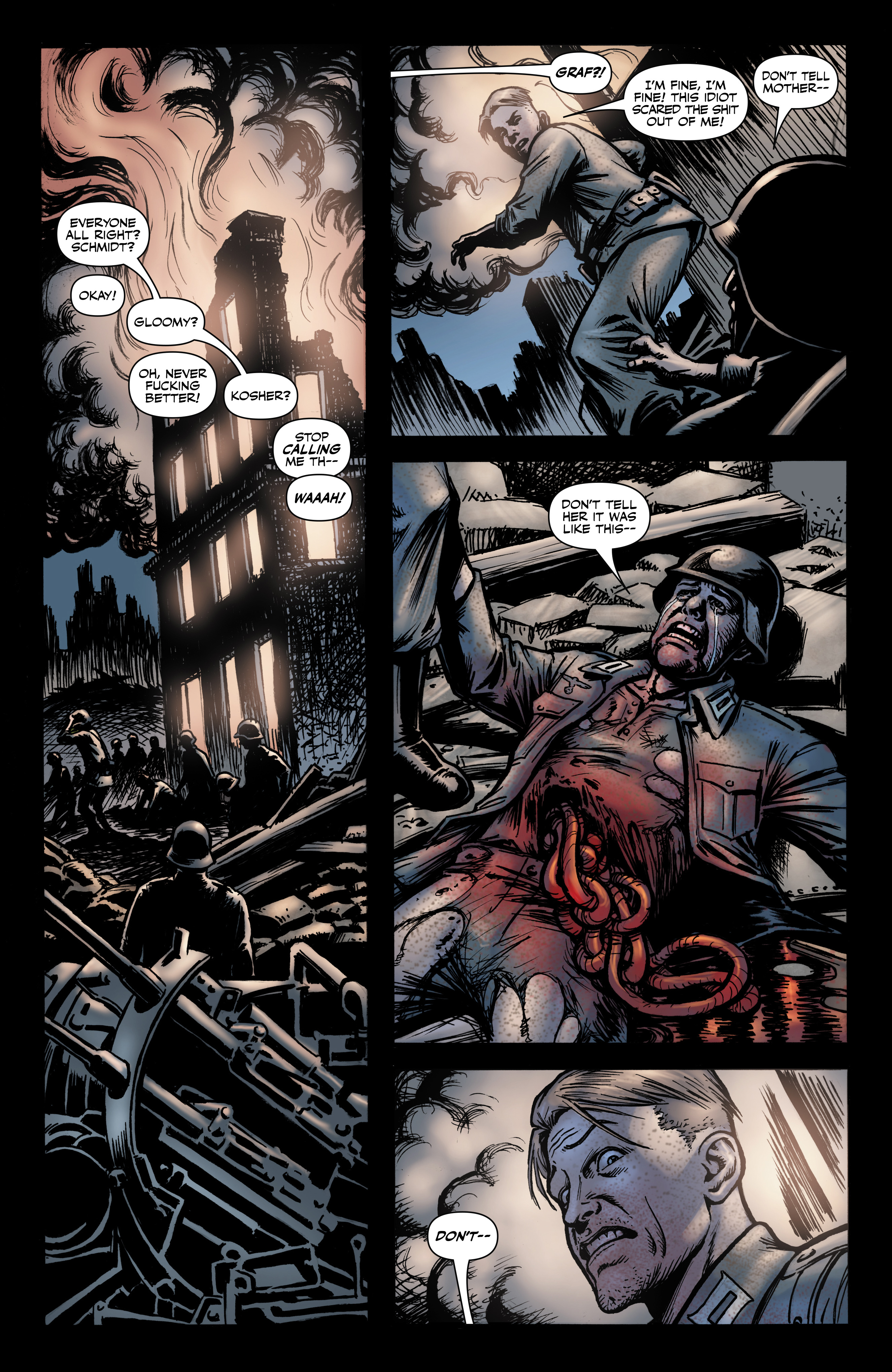 Read online Battlefields: Night Witches comic -  Issue # TPB - 20