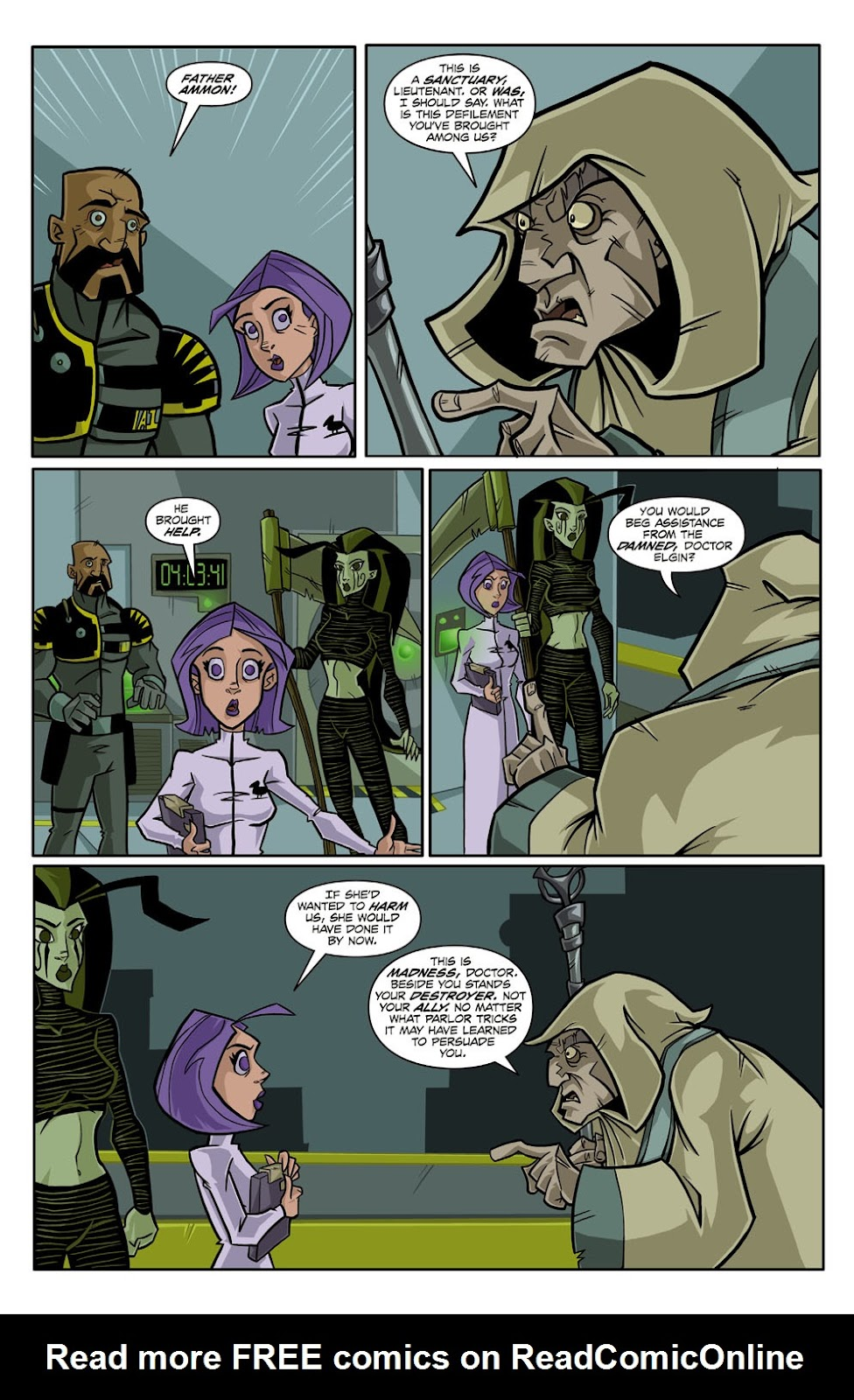 Read online Xombie Reanimated comic -  Issue #2 - 21