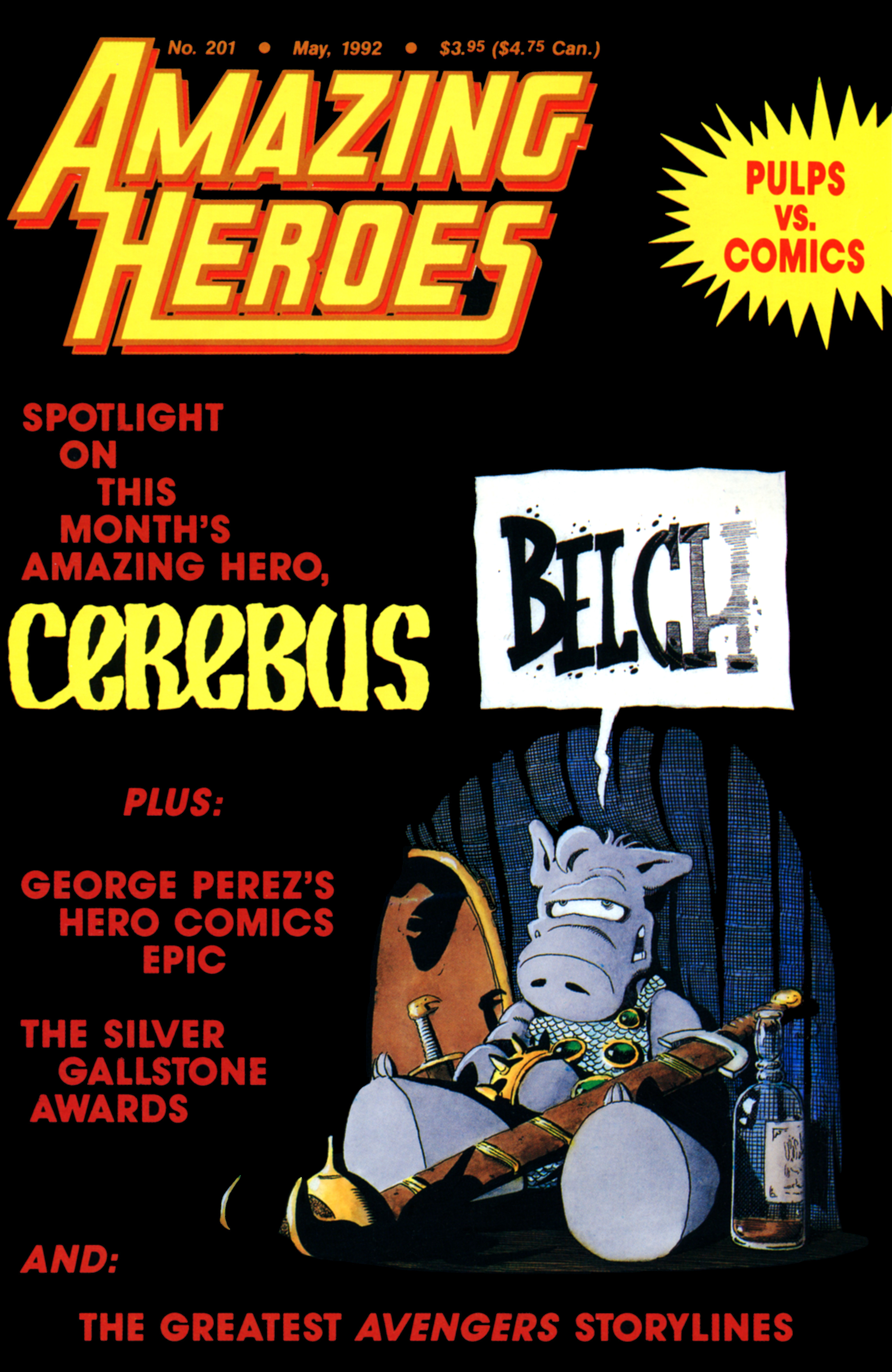 Read online Amazing Heroes comic -  Issue #201 - 1
