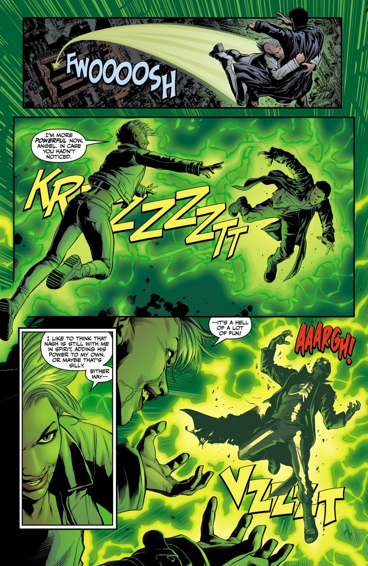 Read online Angel & Faith Season 10 comic -  Issue #4 - 9