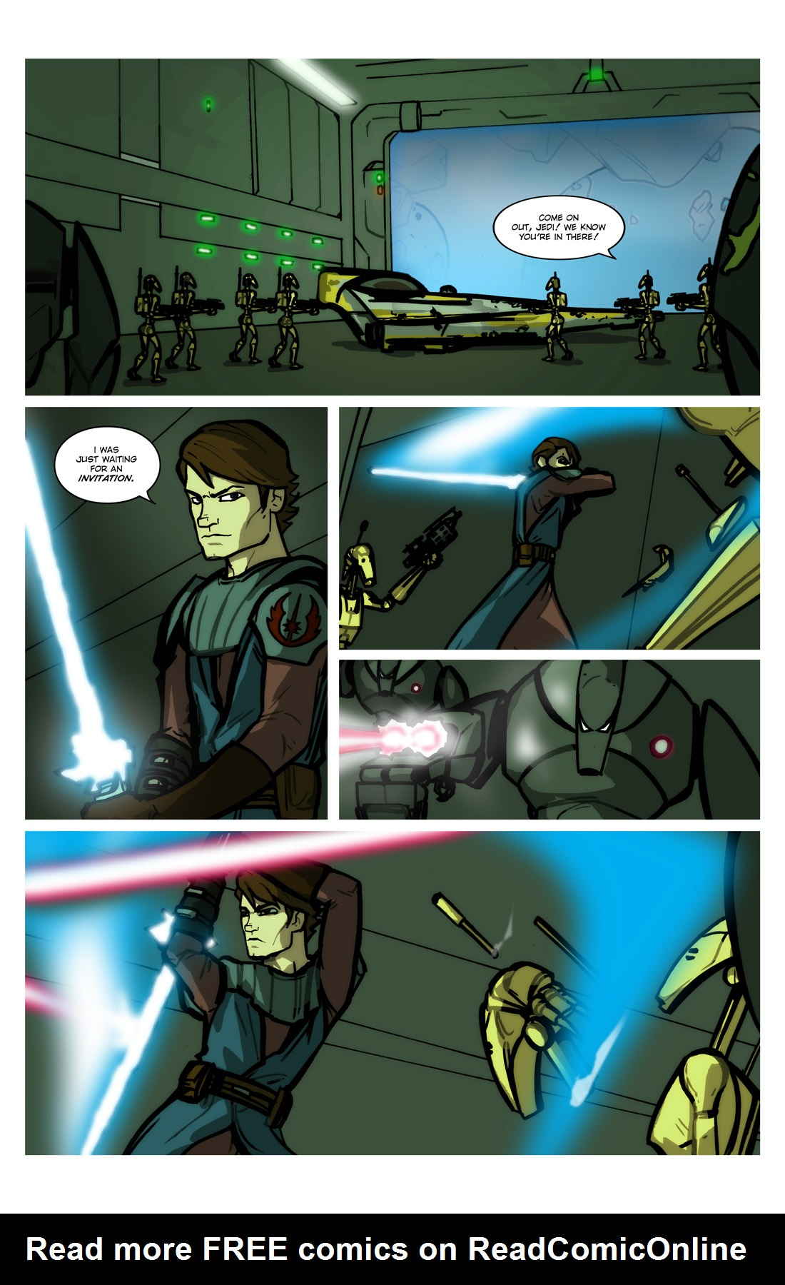 Read online Star Wars: Tales From The Clone Wars comic -  Issue # TPB - 78