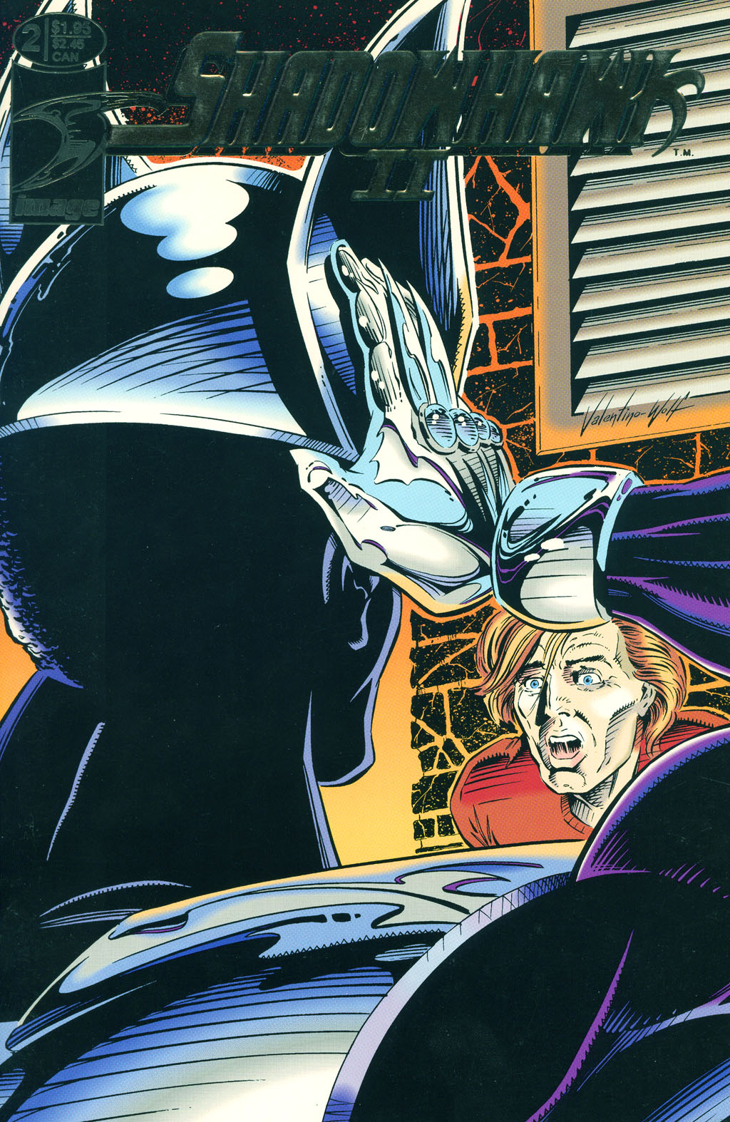Read online ShadowHawk comic -  Issue #6 - 2