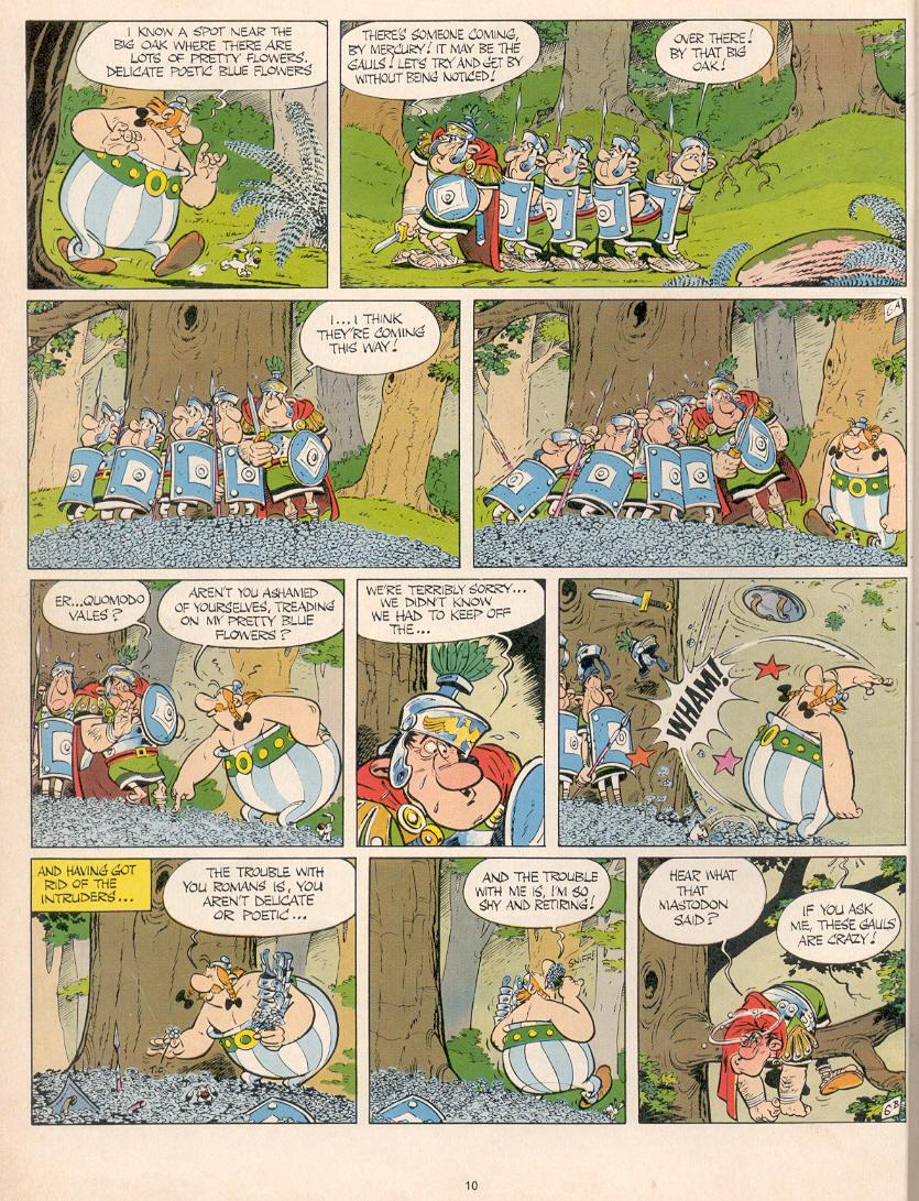 Read online Asterix comic -  Issue #10 - 7