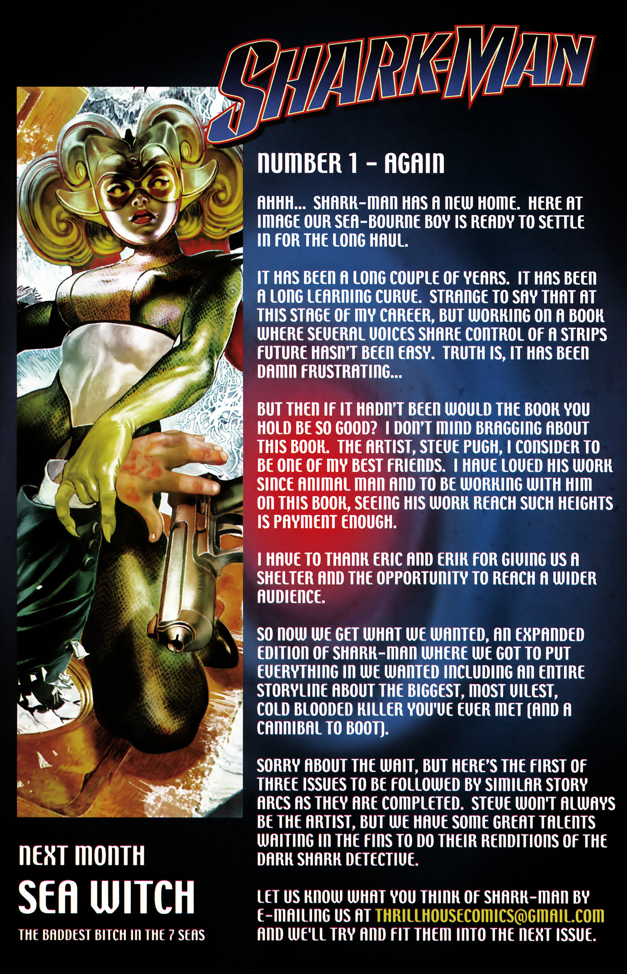 Read online Shark-Man comic -  Issue #1 - 31
