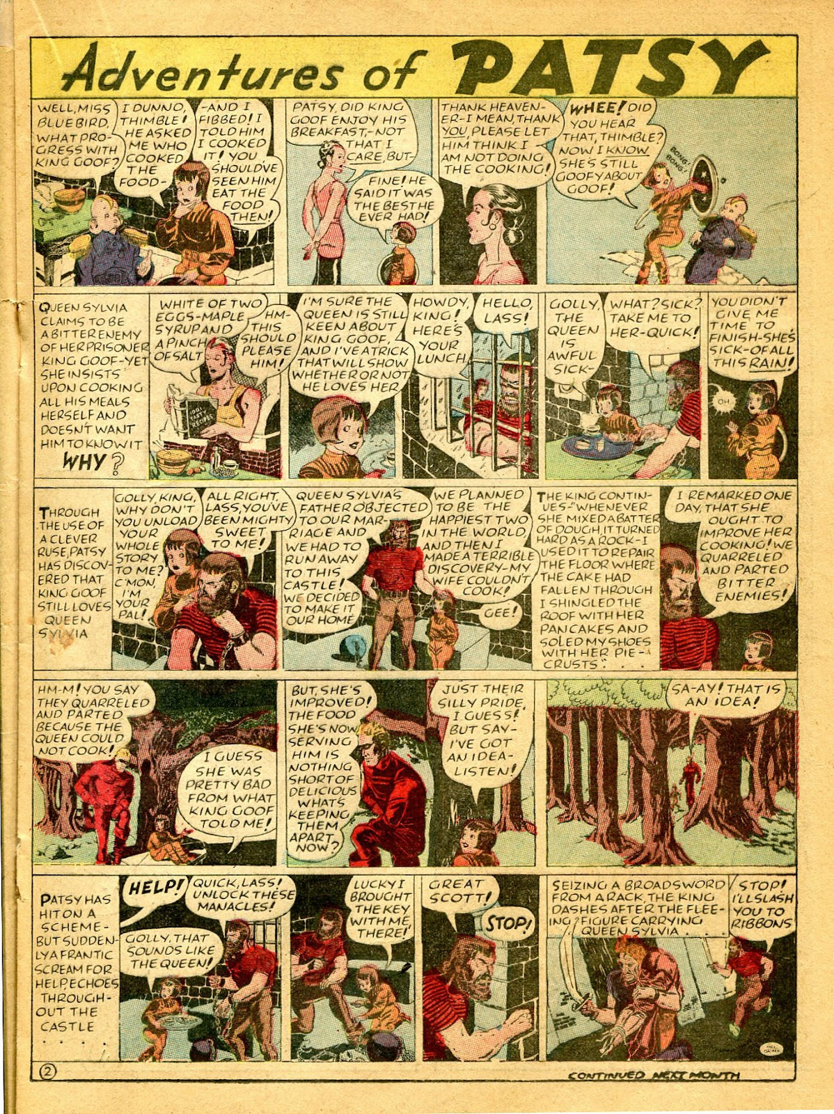 Read online Famous Funnies comic -  Issue #41 - 31