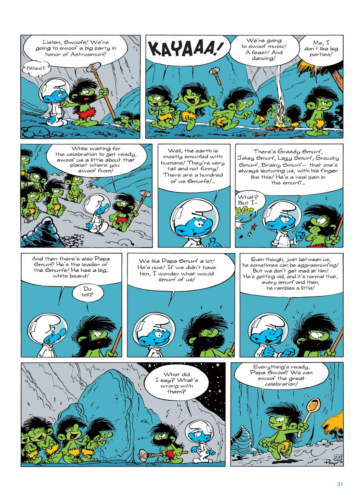 Read online The Smurfs comic -  Issue #7 - 31