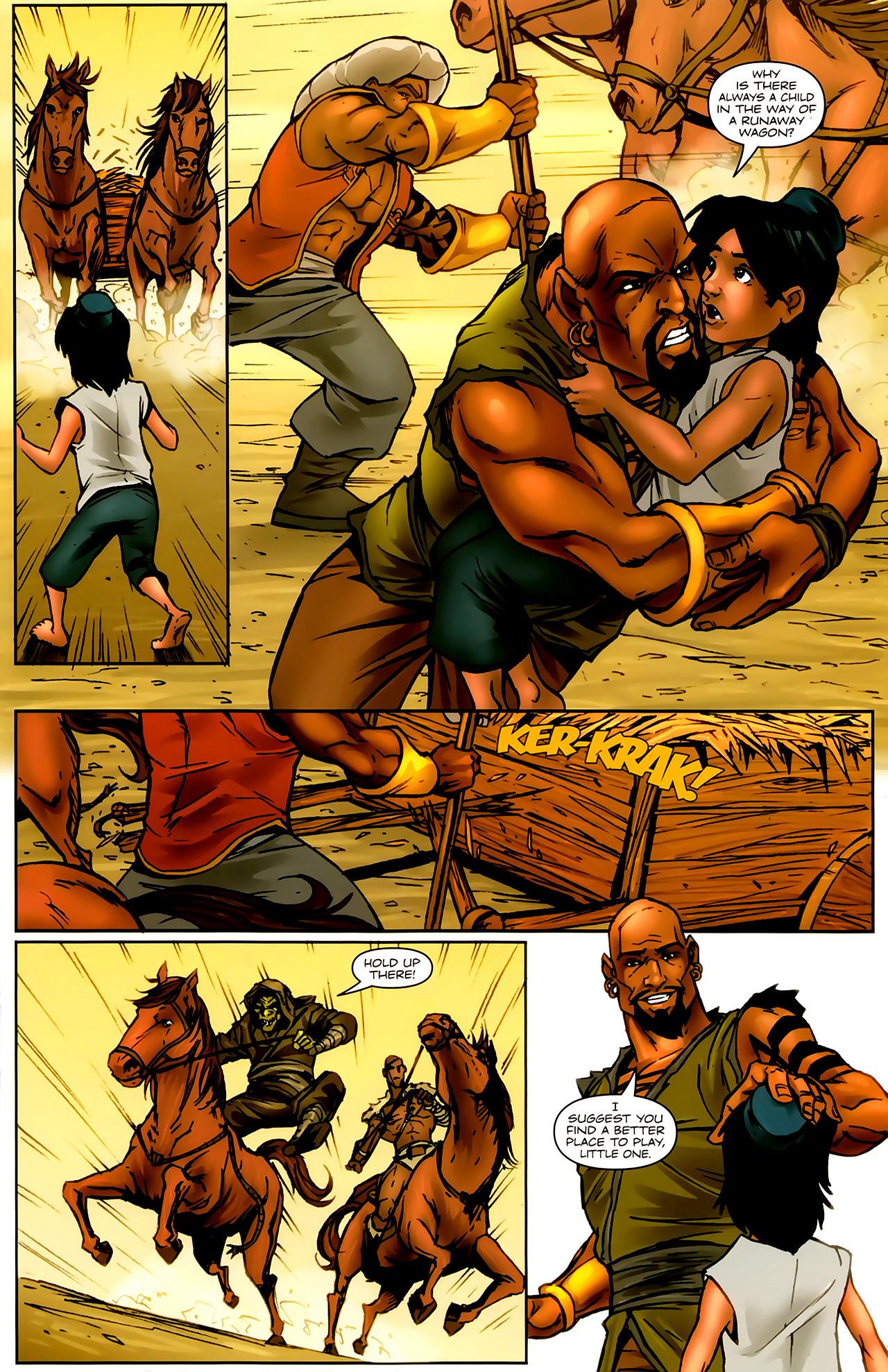 Read online 1001 Arabian Nights: The Adventures of Sinbad comic -  Issue #9 - 7