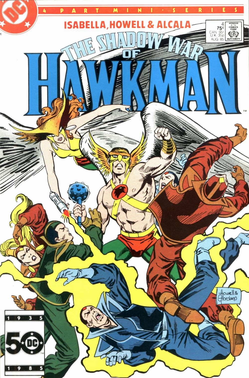 The Shadow War of Hawkman 4 Page 1