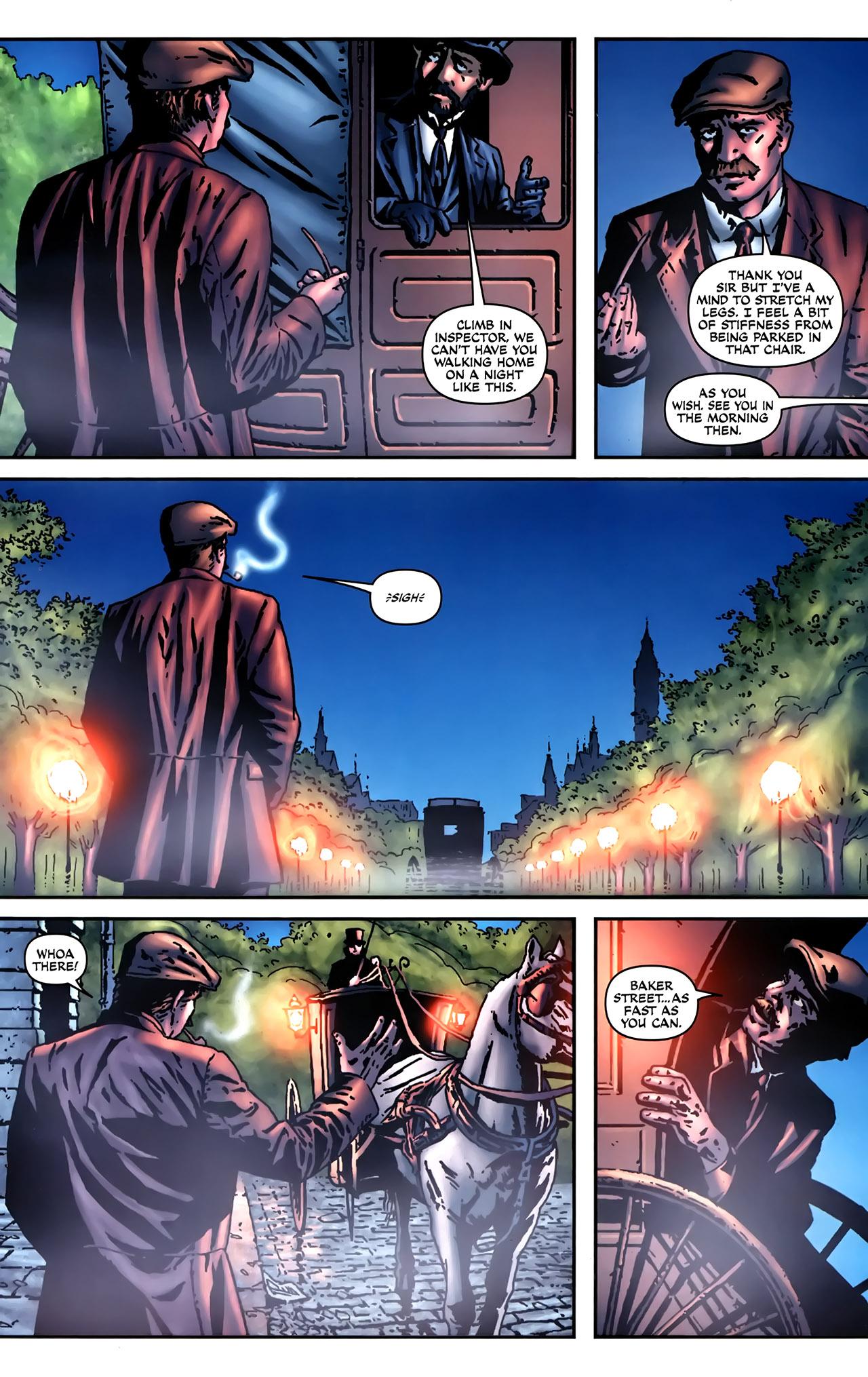 Read online Sherlock Holmes (2009) comic -  Issue #2 - 15