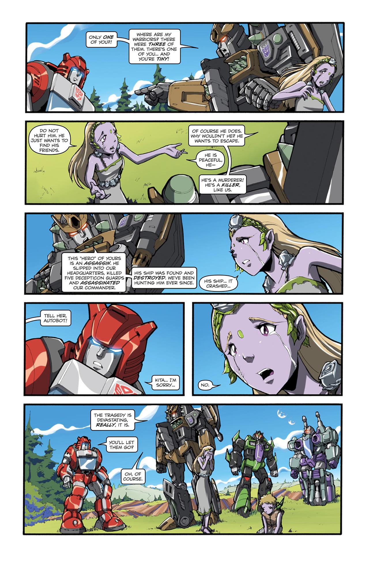 Read online Transformers Spotlight: Cliffjumper comic -  Issue # Full - 20