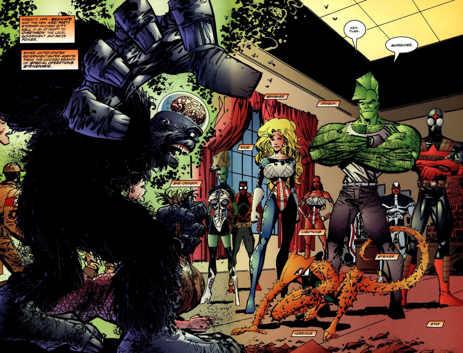 The Savage Dragon (1993) Issue #61 #64 - English 4