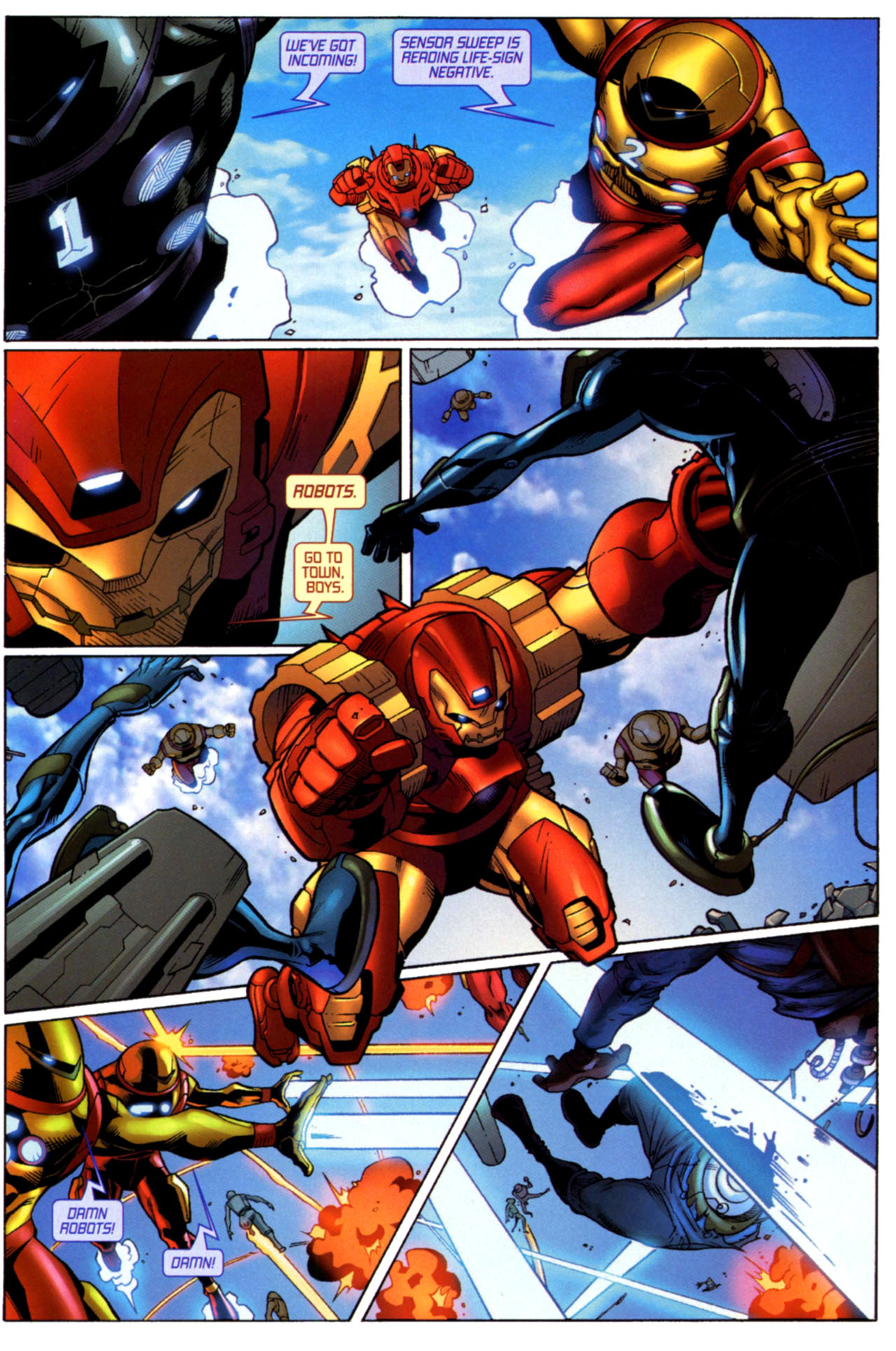 Read online Astonishing Tales (2009) comic -  Issue #4 - 12