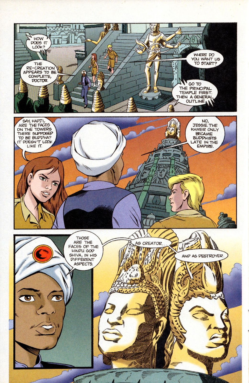 Read online The Real Adventures of Jonny Quest comic -  Issue #11 - 12