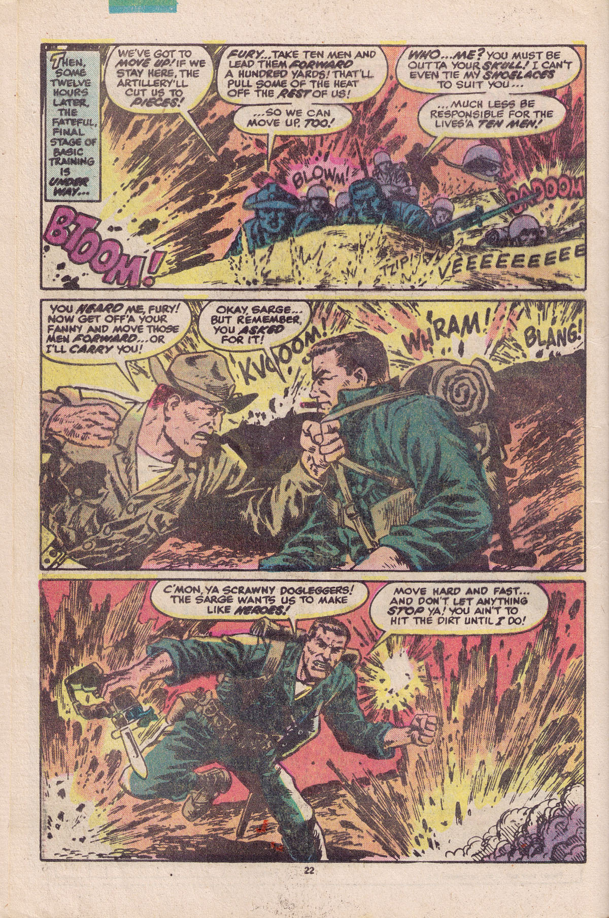 Read online Sgt. Fury comic -  Issue #158 - 24