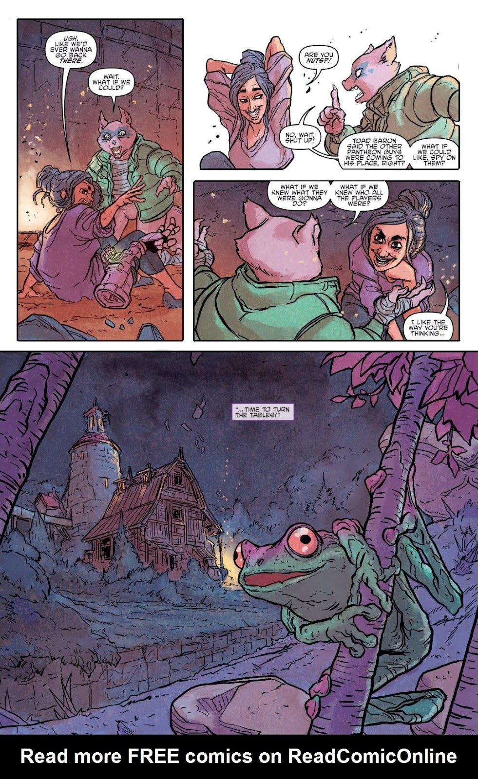 Read online Teenage Mutant Ninja Turtles: The IDW Collection comic -  Issue # TPB 9 (Part 2) - 36