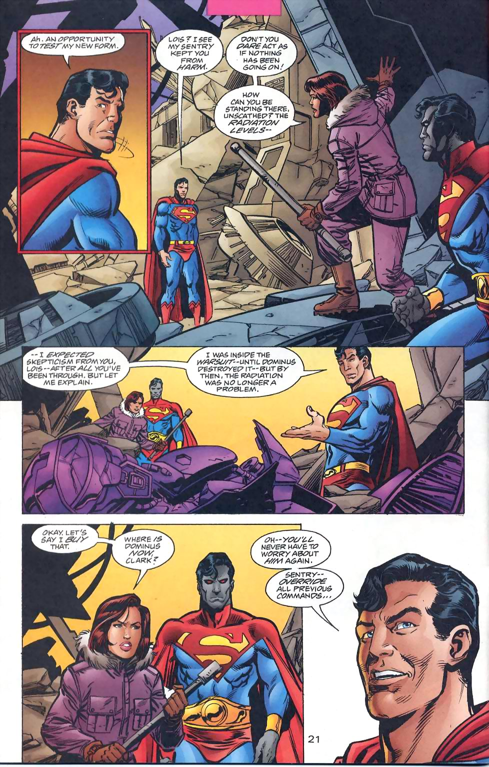 Read online Adventures of Superman (1987) comic -  Issue #567 - 23