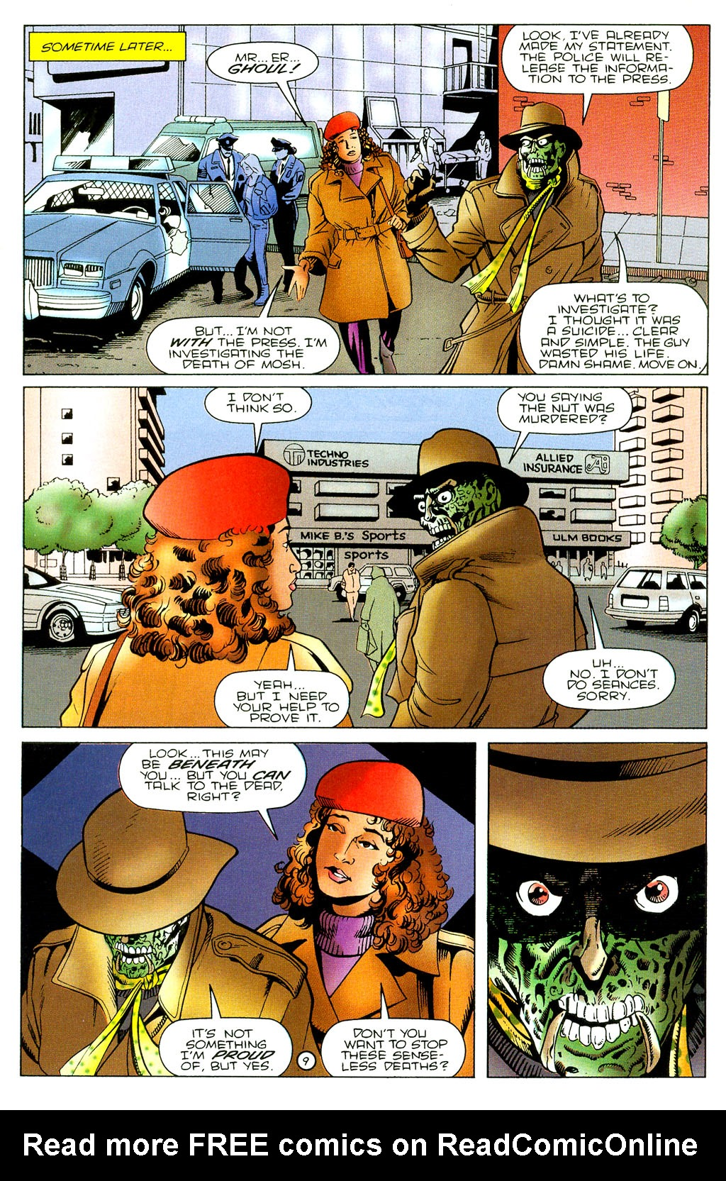 Read online UltraForce (1994) comic -  Issue #7 - 10