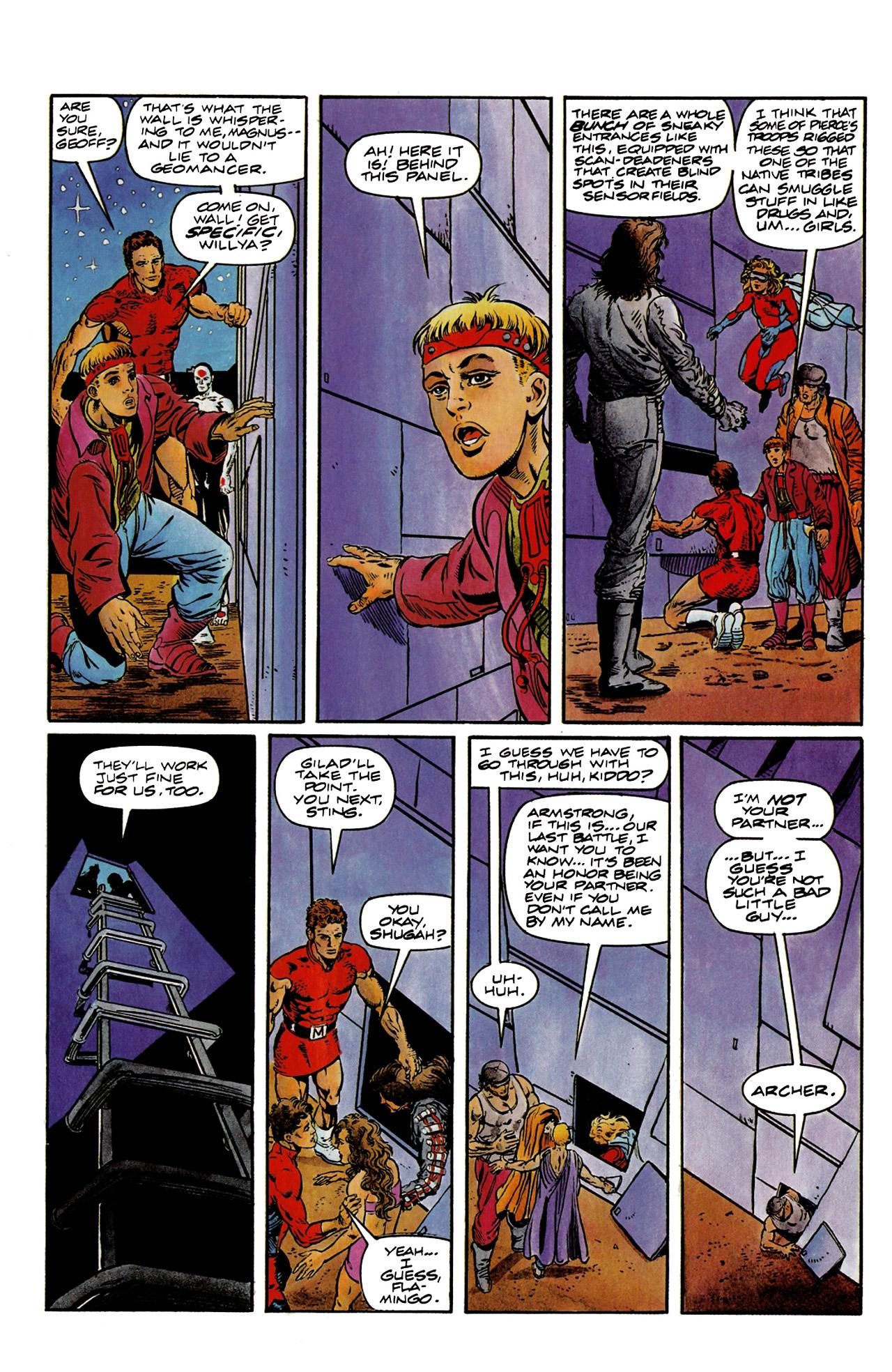 Read online Harbinger (1992) comic -  Issue #9 - 10