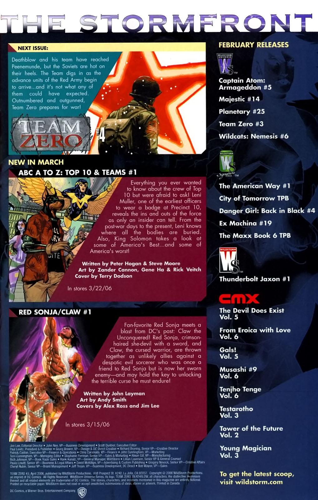 Read online Team Zero comic -  Issue #3 - 21