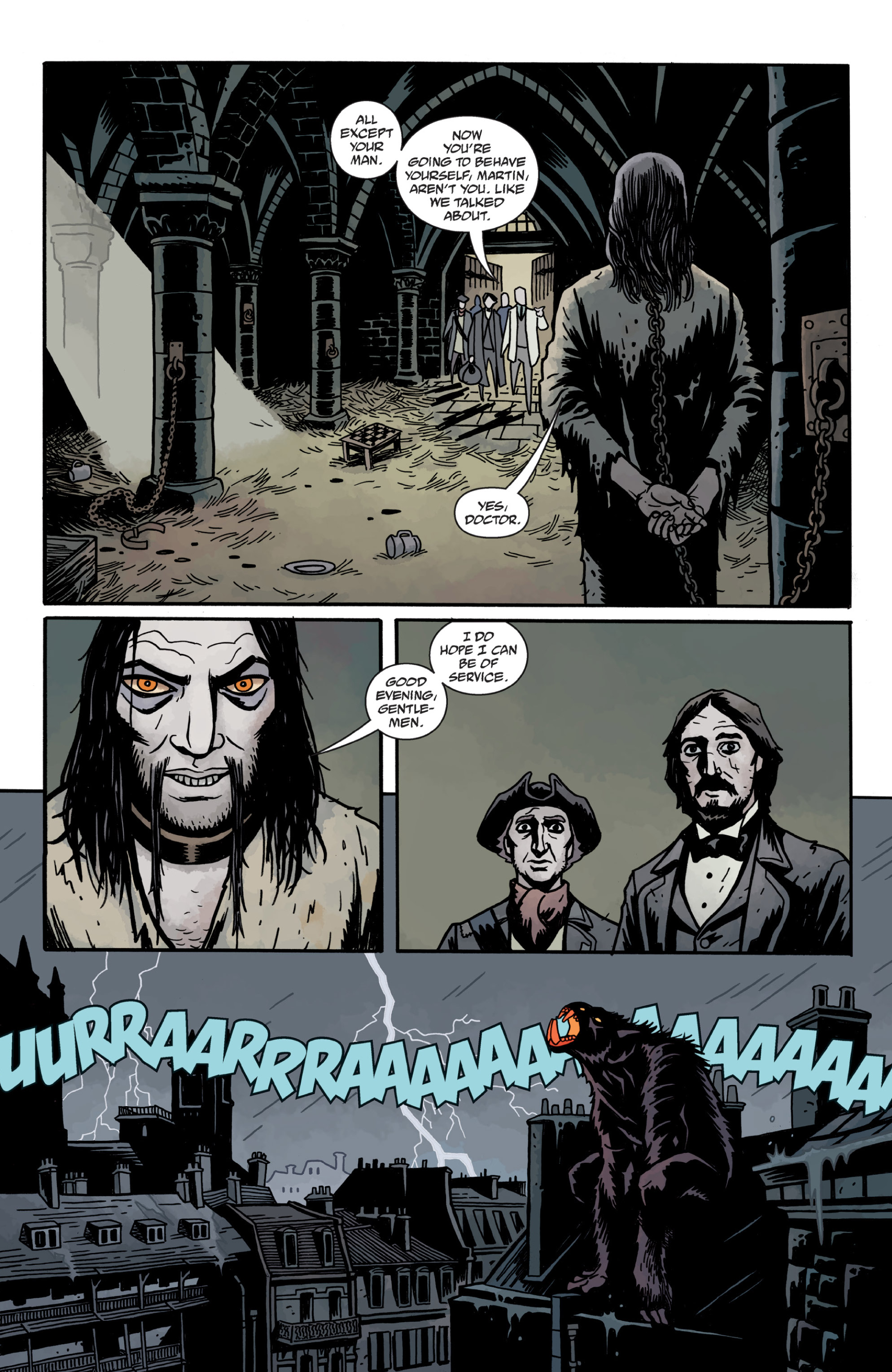 Read online Sir Edward Grey, Witchfinder: In the Service of Angels comic -  Issue # TPB - 101