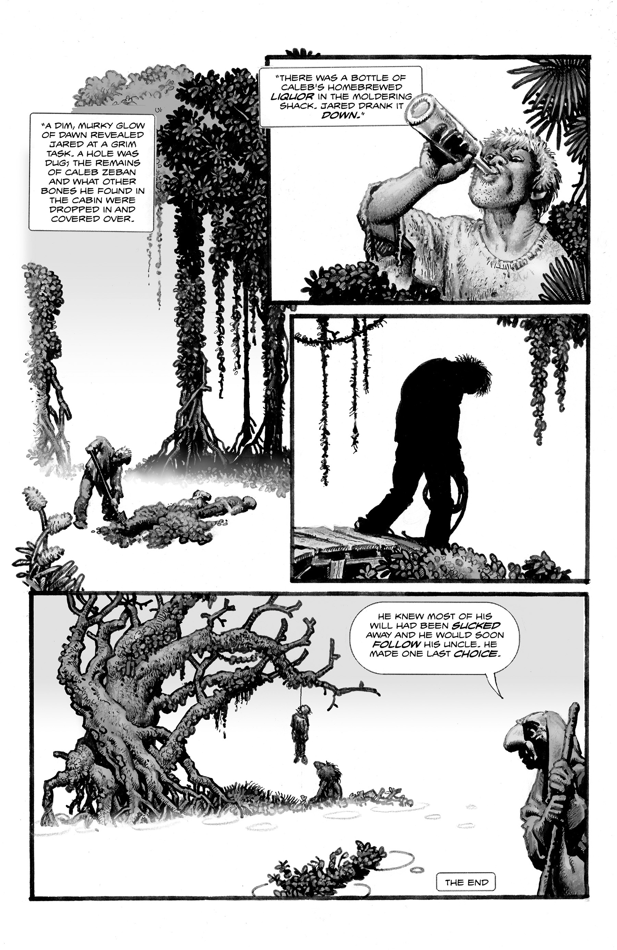 Read online Shadows on the Grave comic -  Issue #2 - 18